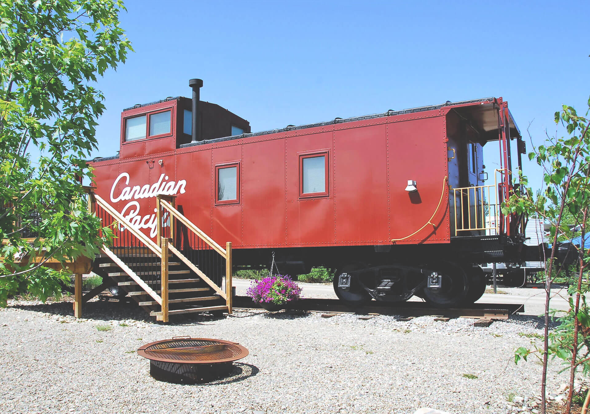 Locomotive at Aspen Crossing