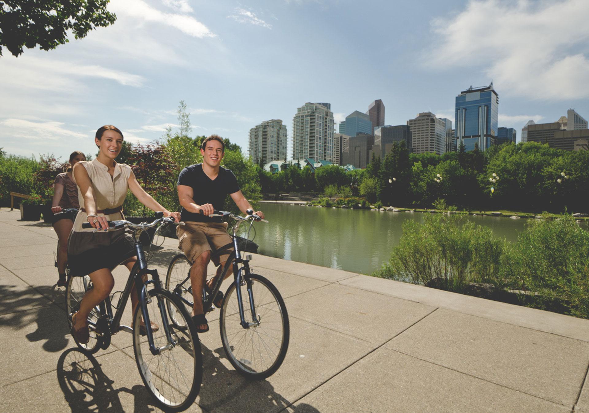 10 Epic Bike Pathways in Calgary Tourism Calgary