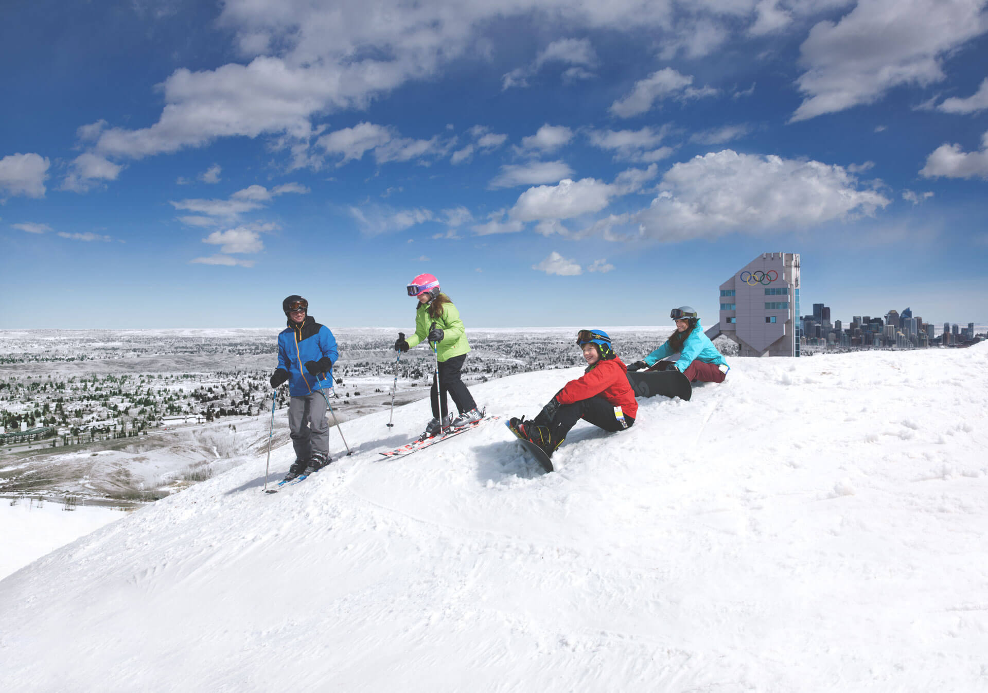 Skiing and Snowboarding at WinSport