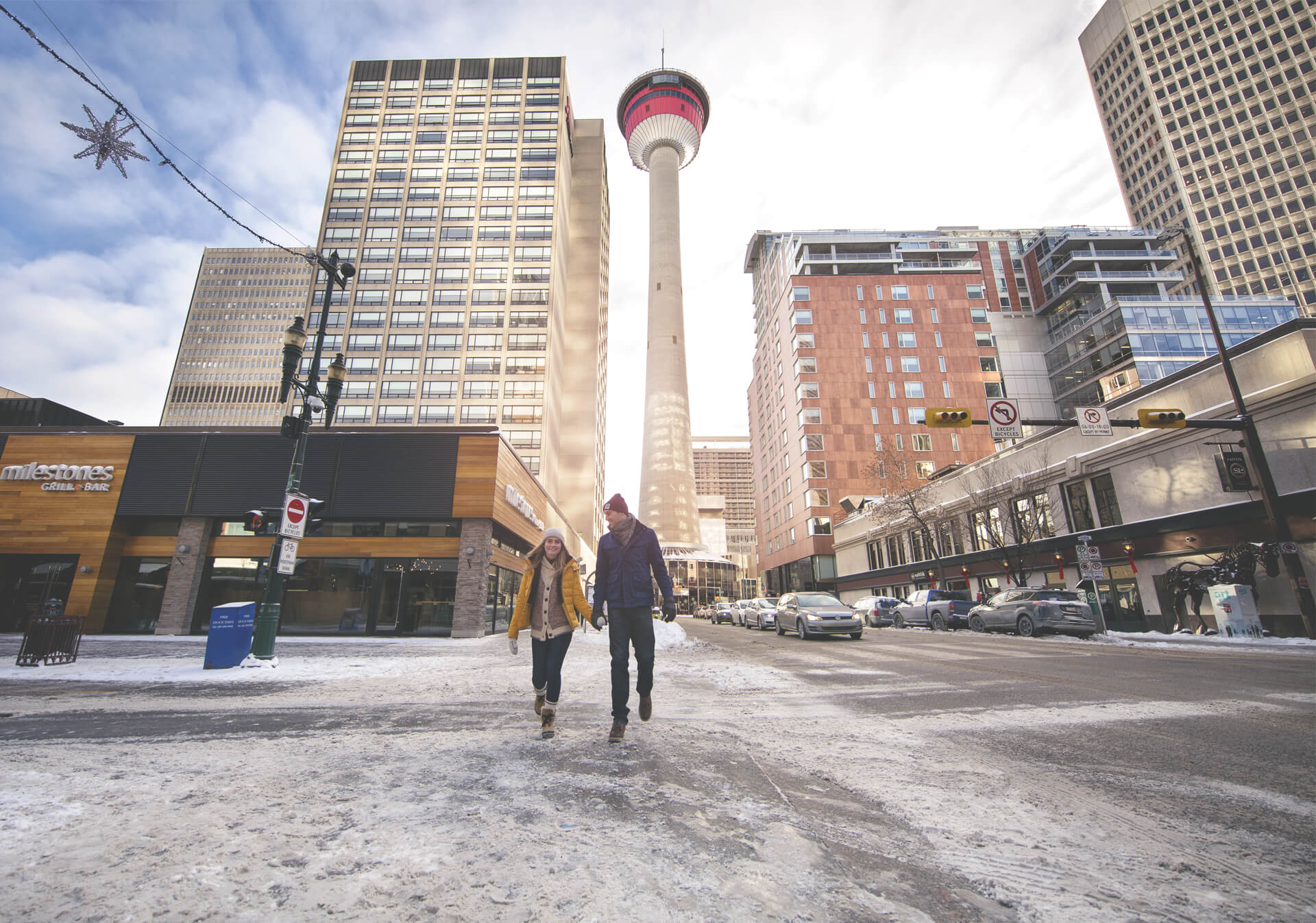 The Calgary Tower is a must see experience in Calgary