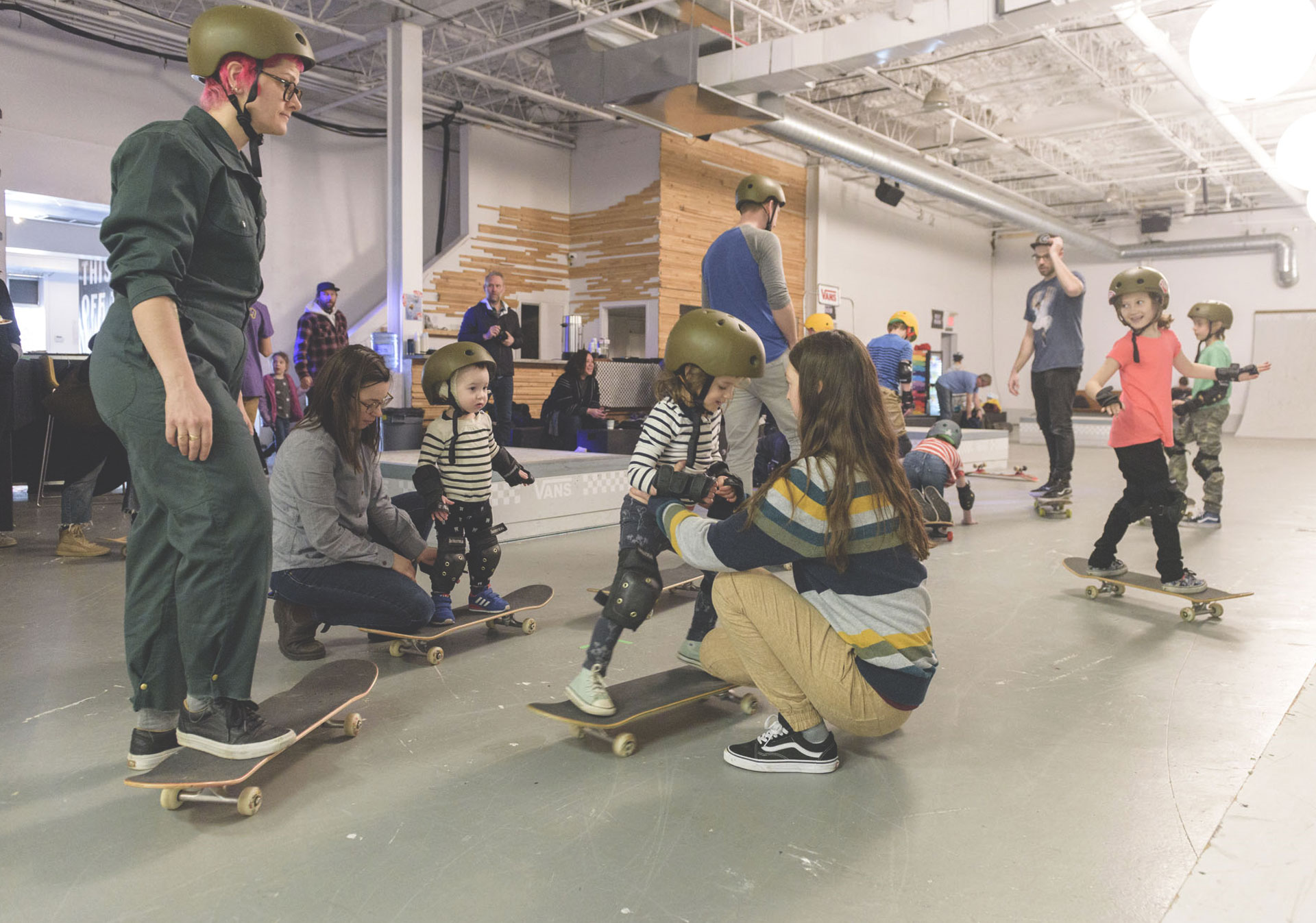 Girls Skate Clinics as part of House of Vans