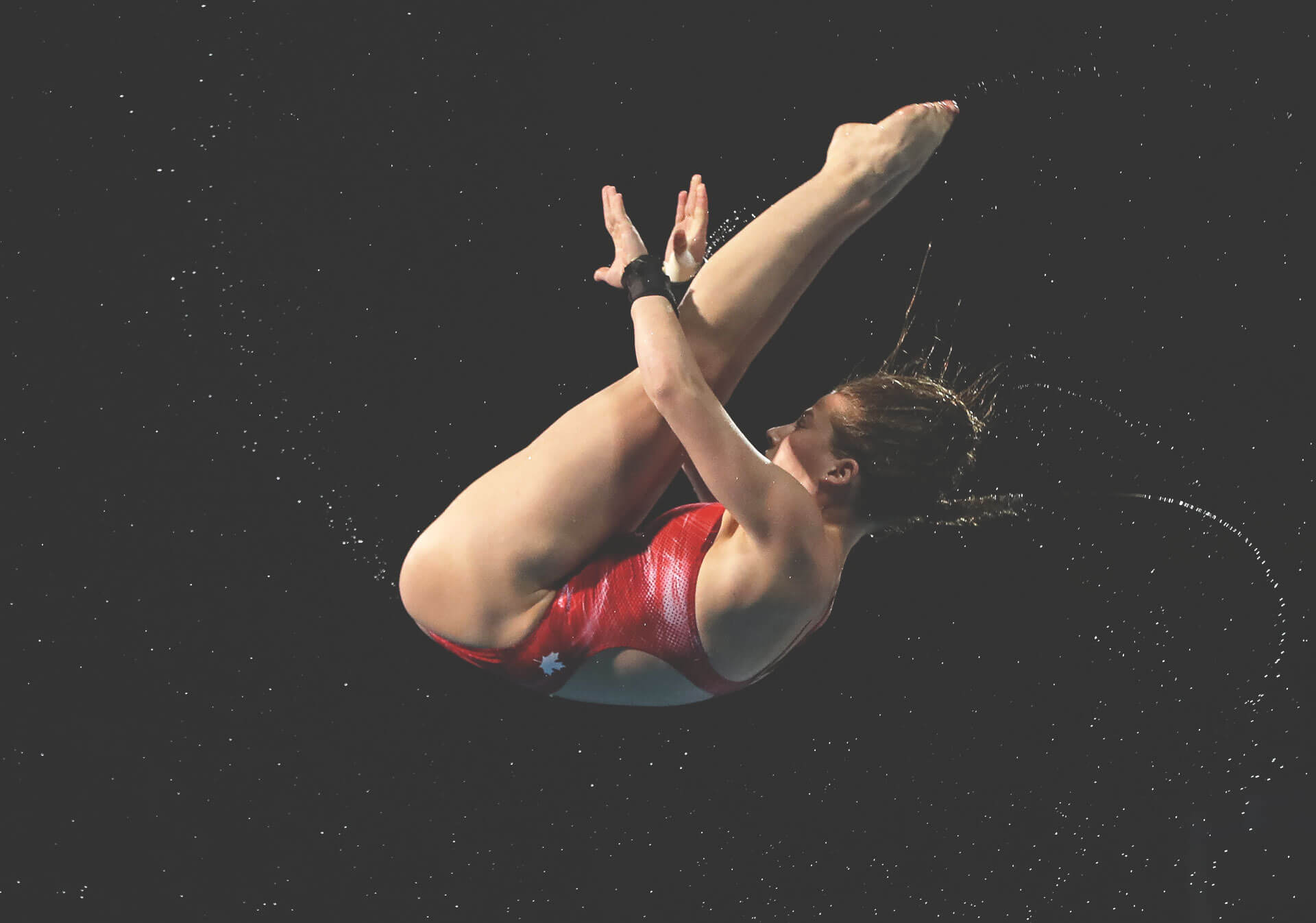 See Olympians and other elite athletes, like Calgary's own Caeli McKay at the FINA Diving Grand Prix. Photo: Ian MacNicol