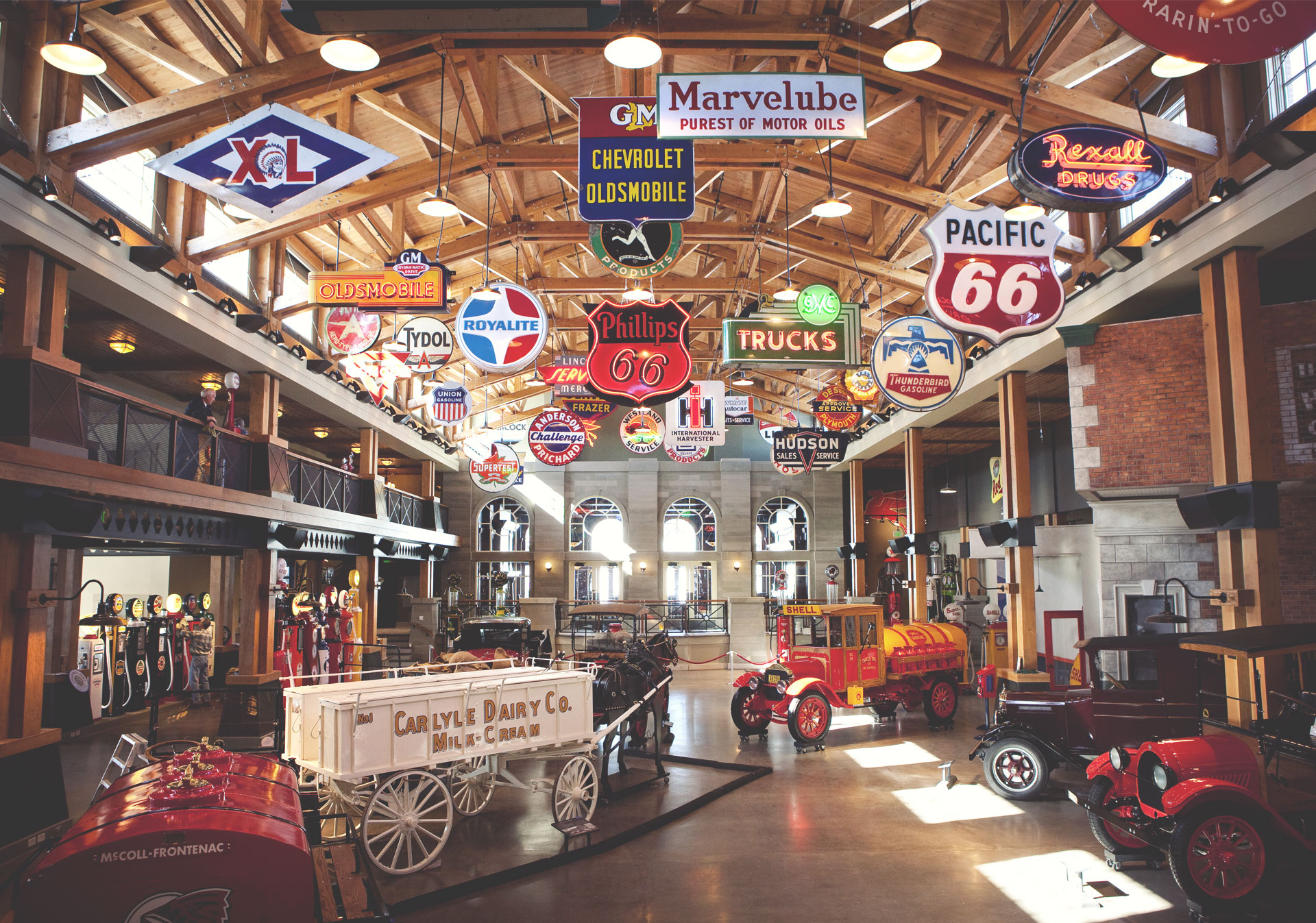 Gasoline Alley Museum at Heritage Park