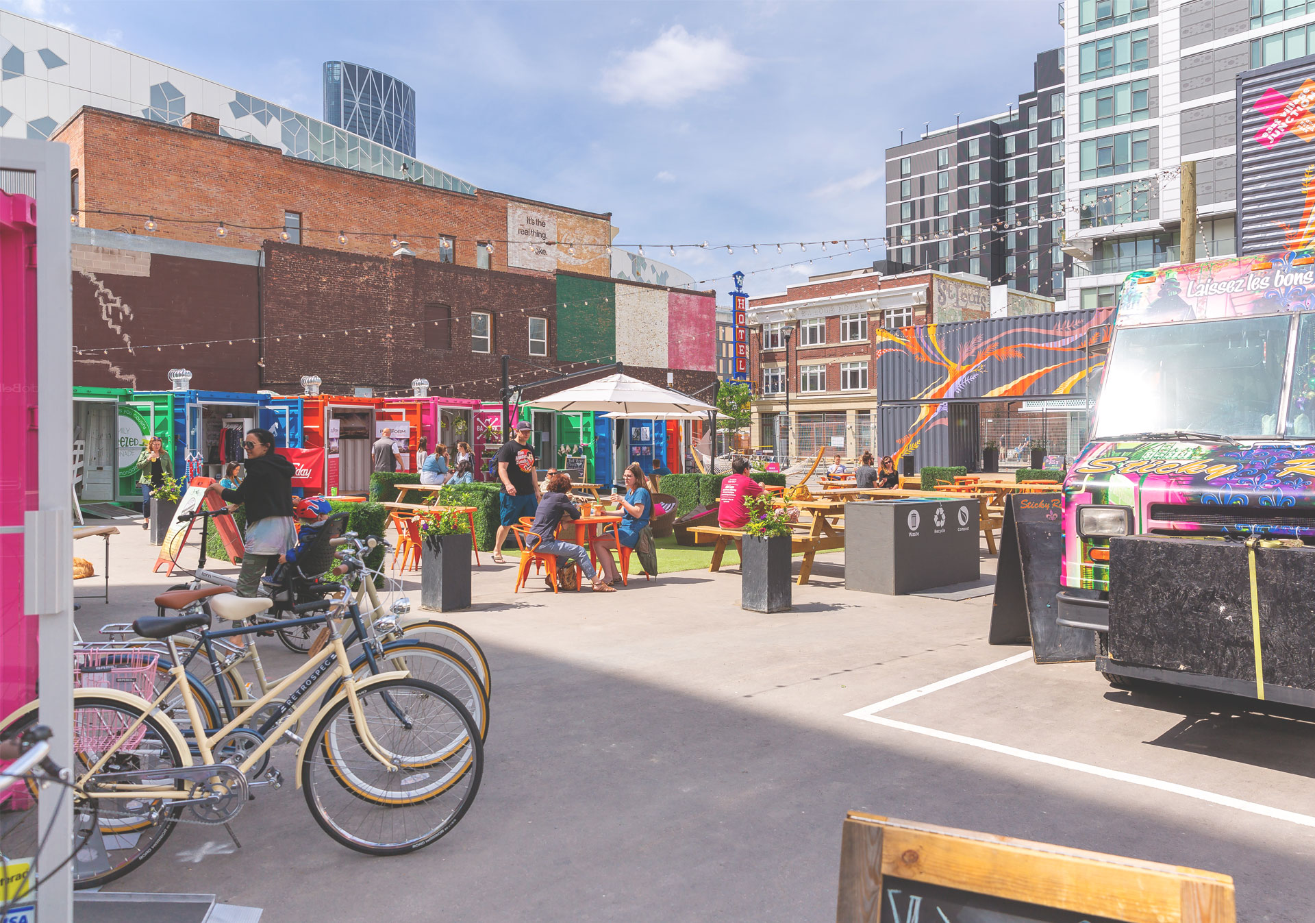 EV Junction Pop Up Market Calgary