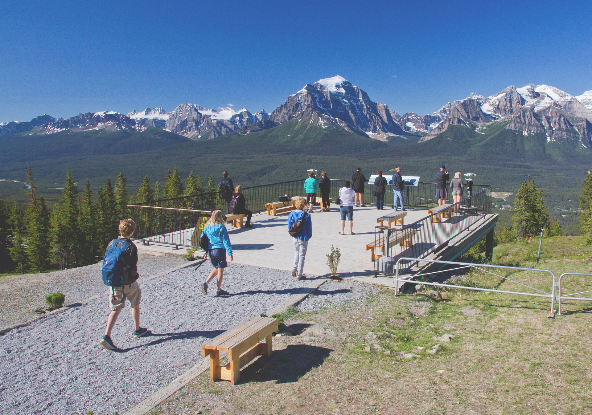 Lake Louise Sightseeing Gondola and Interpretive Centre summer