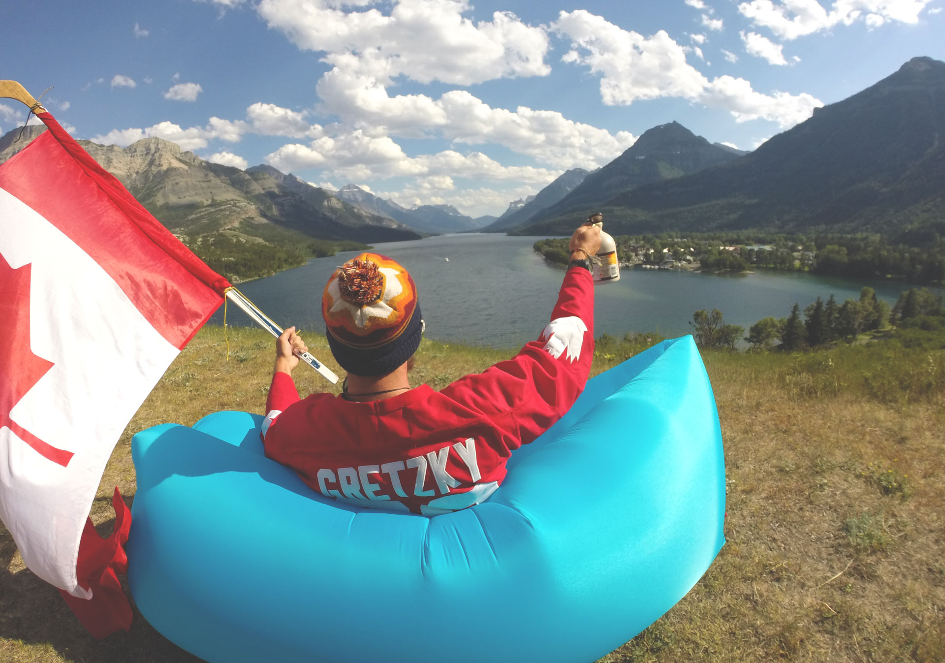 Views of Waterton Lakes National Park