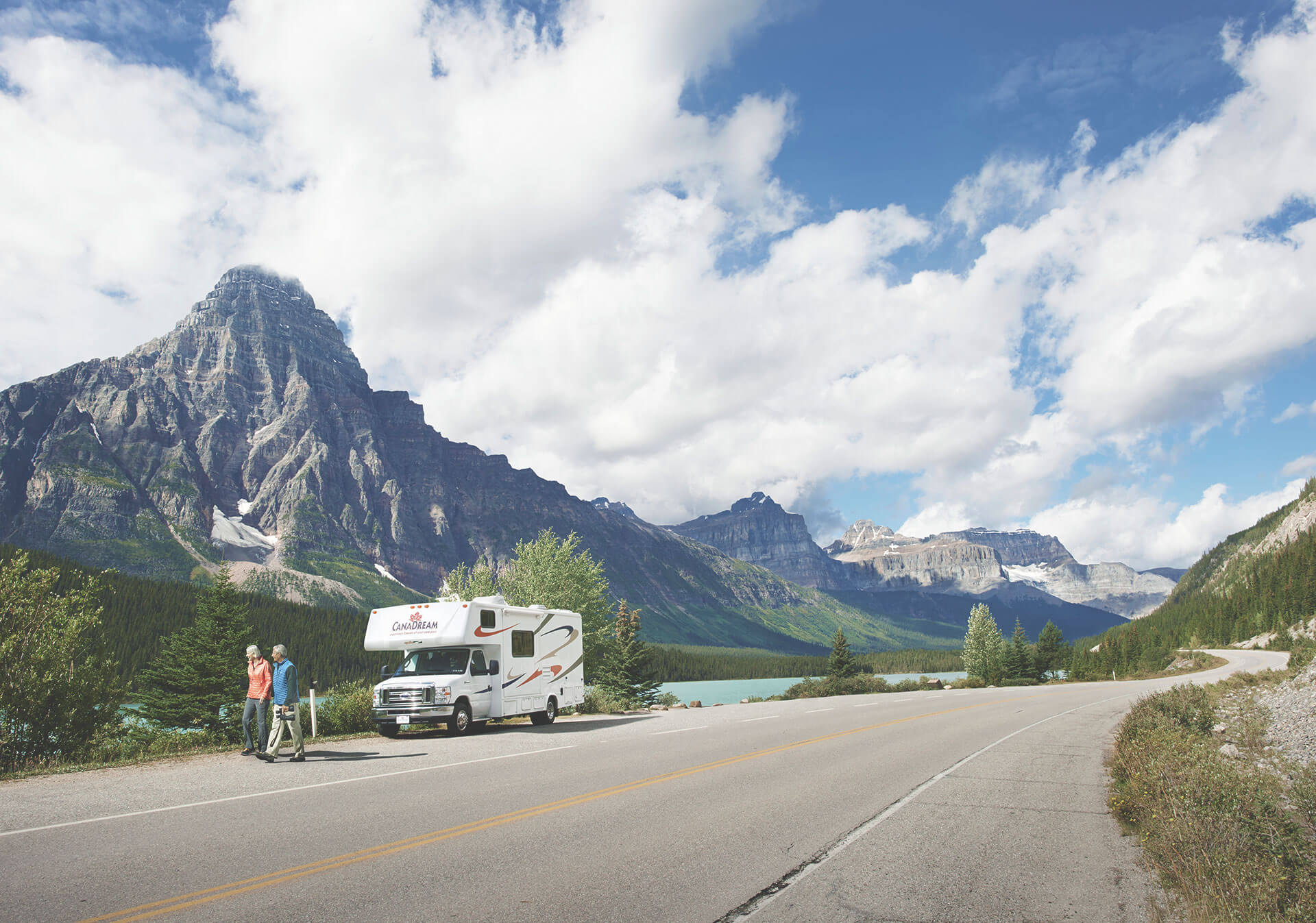 RVing in the mountains