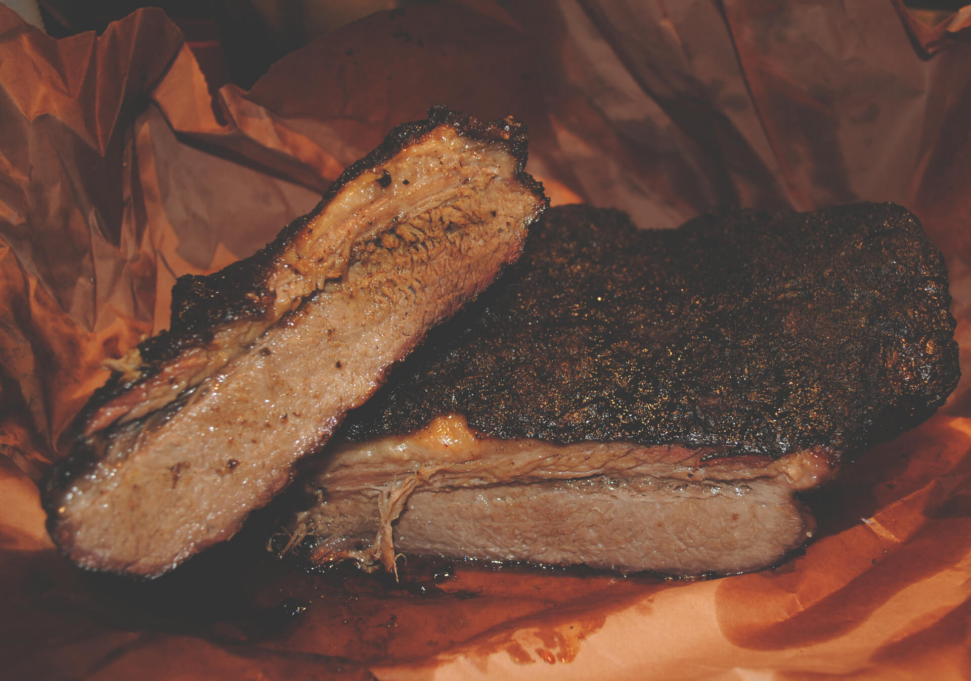 Bookers BBQ Grill + Crab Shack southern brisket