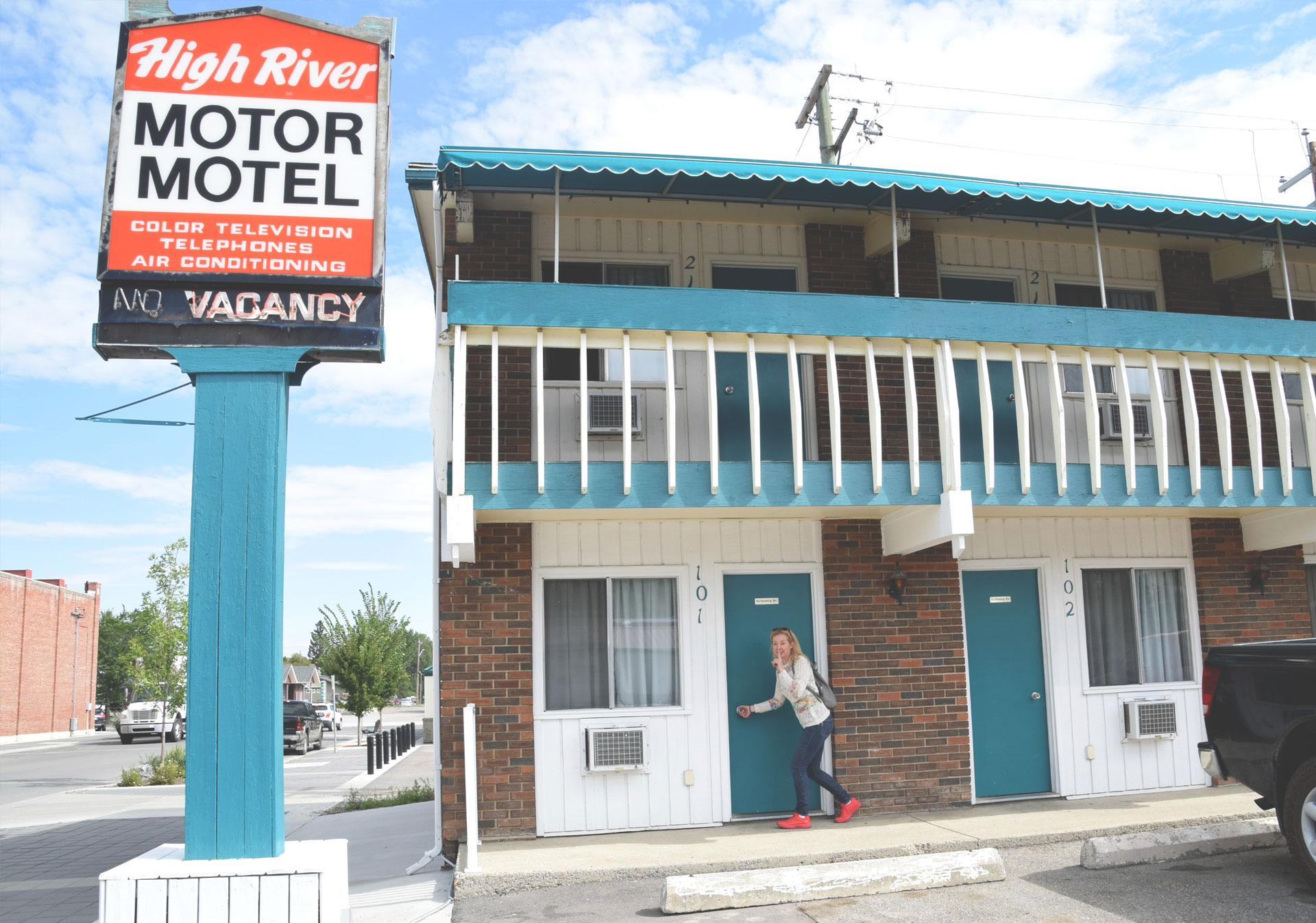 The High River Motor Hotel in High River.