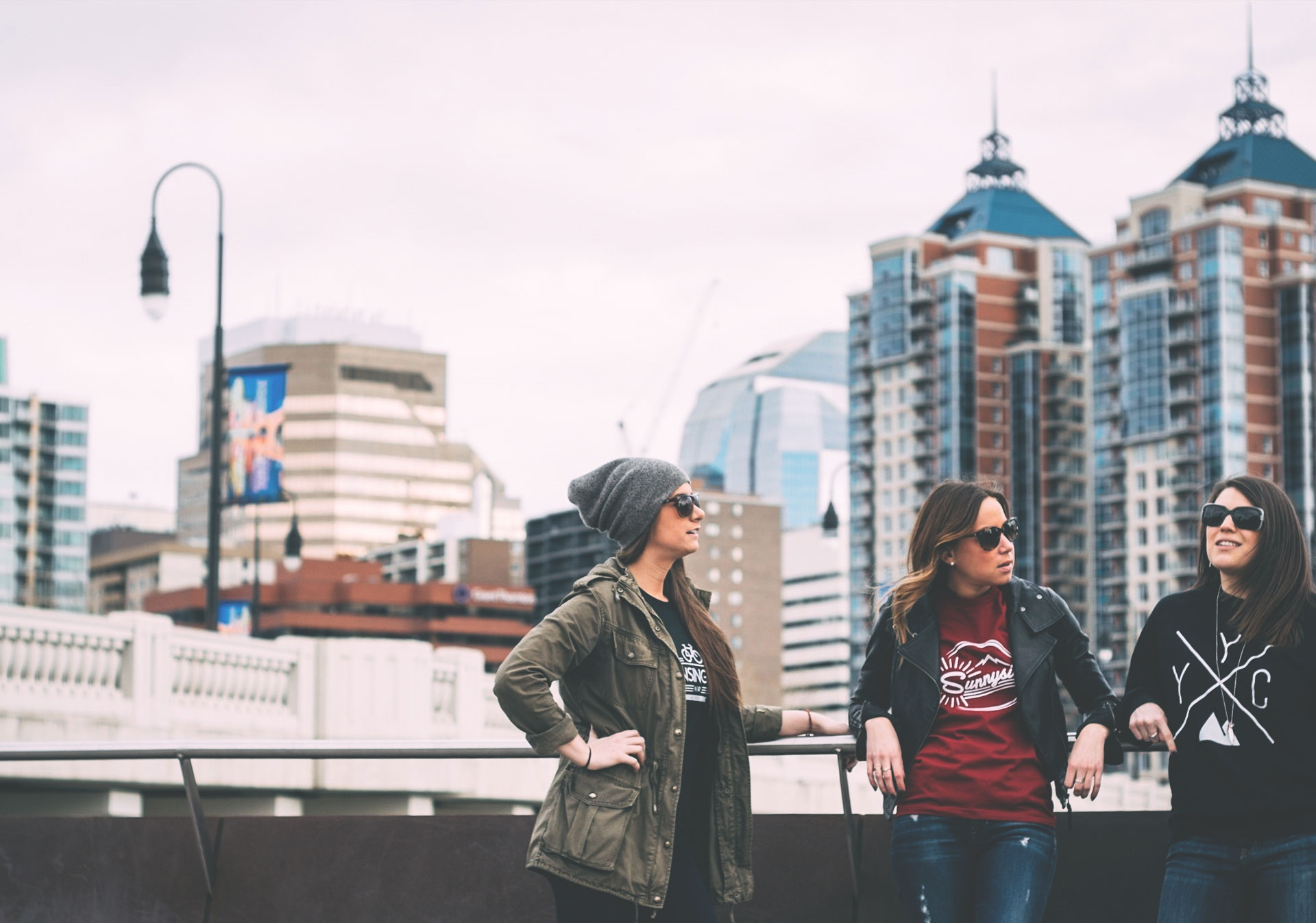 Remember your trip to Calgary with a local clothing brand like Local Laundry.