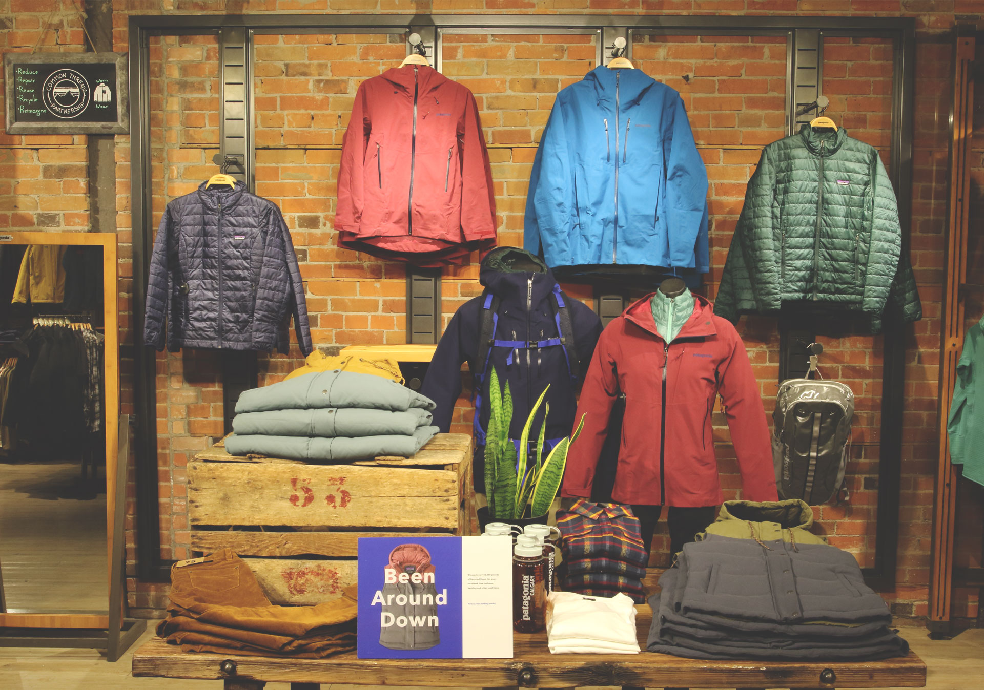 Gear up at Patagonia Calgary on 17th Avenue.