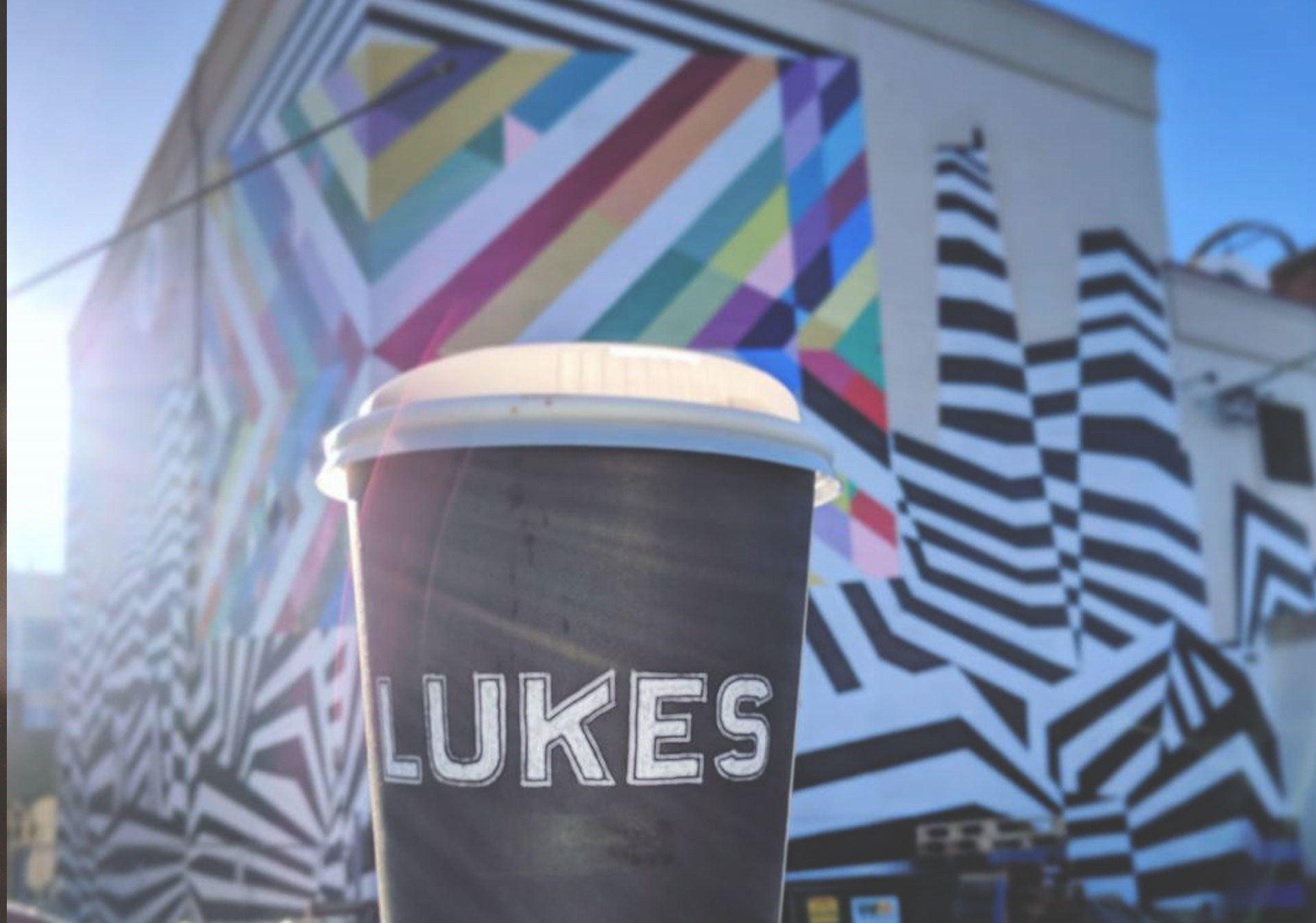 Coffee from Lukes Drug Mart in Bridgeland (Photo credit: @k84xo on Instagram).