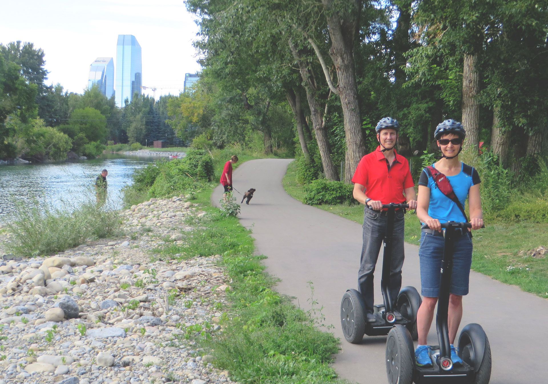 River Valley Adventure Segway Tours in Calgary.