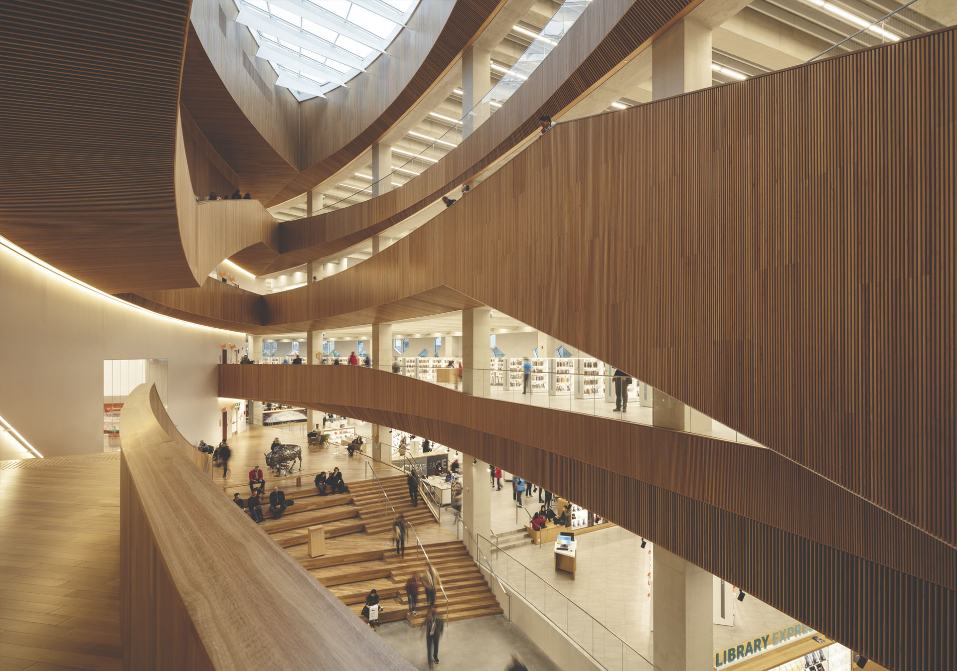 Calgary's New Central Library (photo: Michael Grimm)