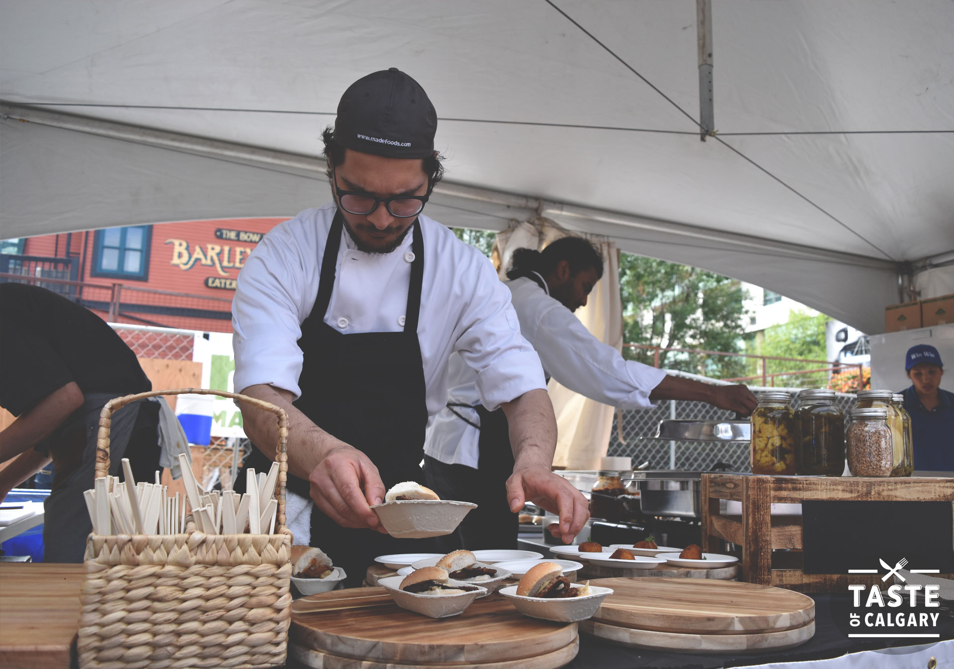 Sample the best flavours in the city at Taste of Calgary.