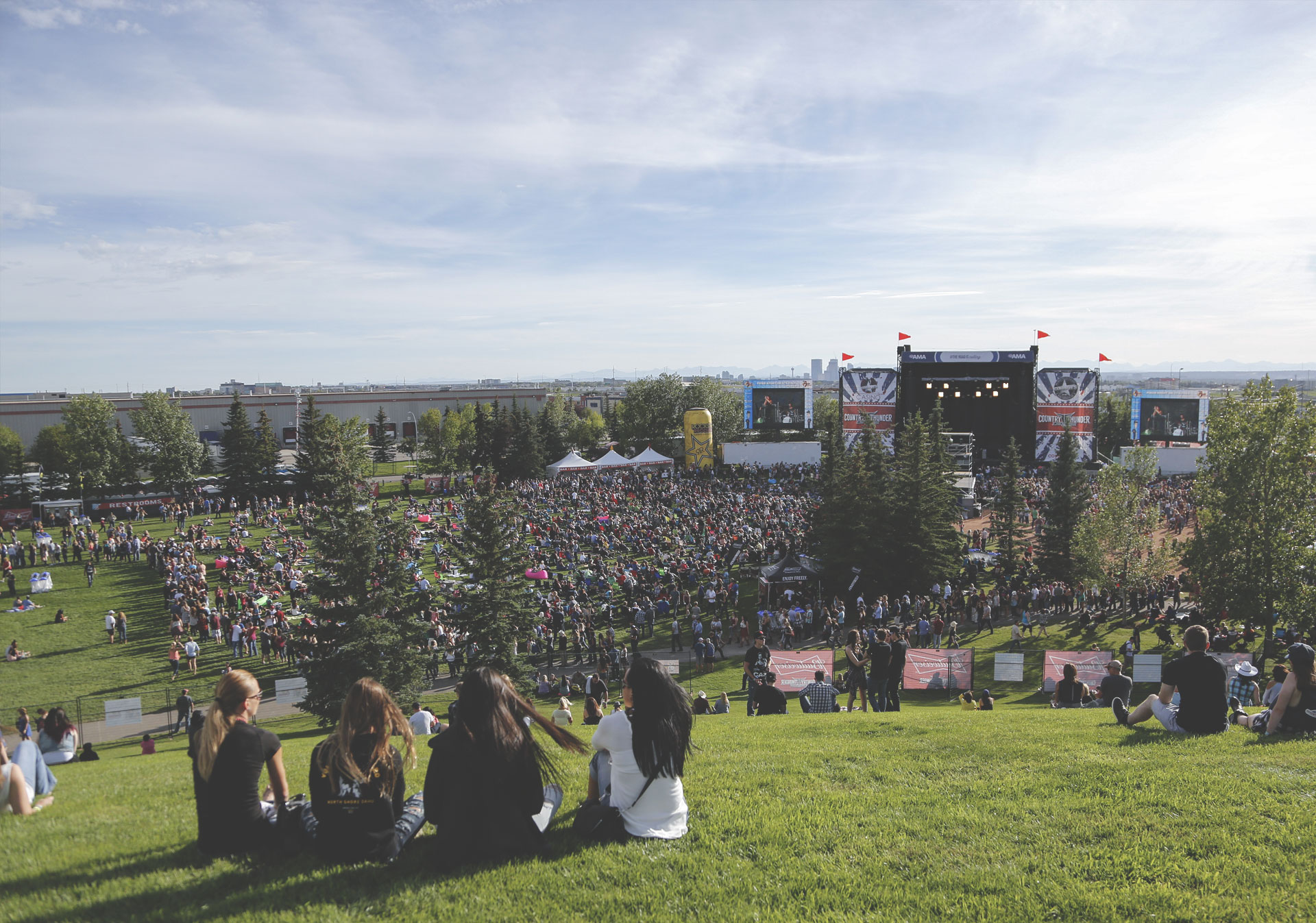 The biggest names in country music come to Calgary for Country Thunder.