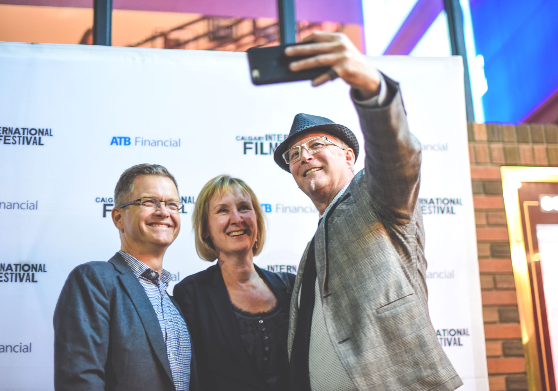 Walk the red carpet at the Calgary International Film Festival.