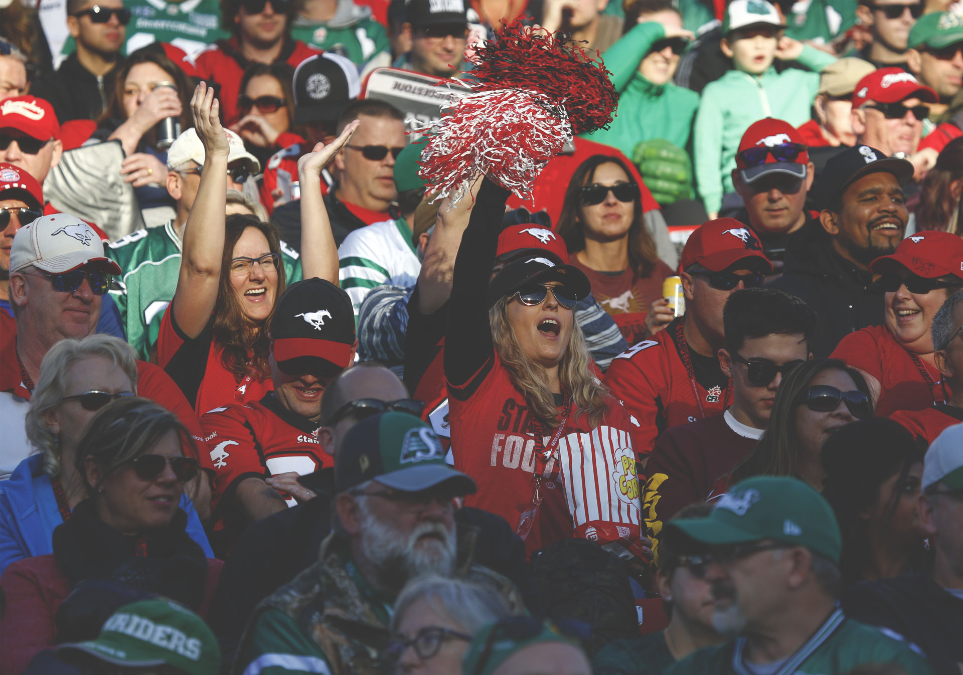 Rest up for the big game so you can cheer on the Calgary Stampeders.
