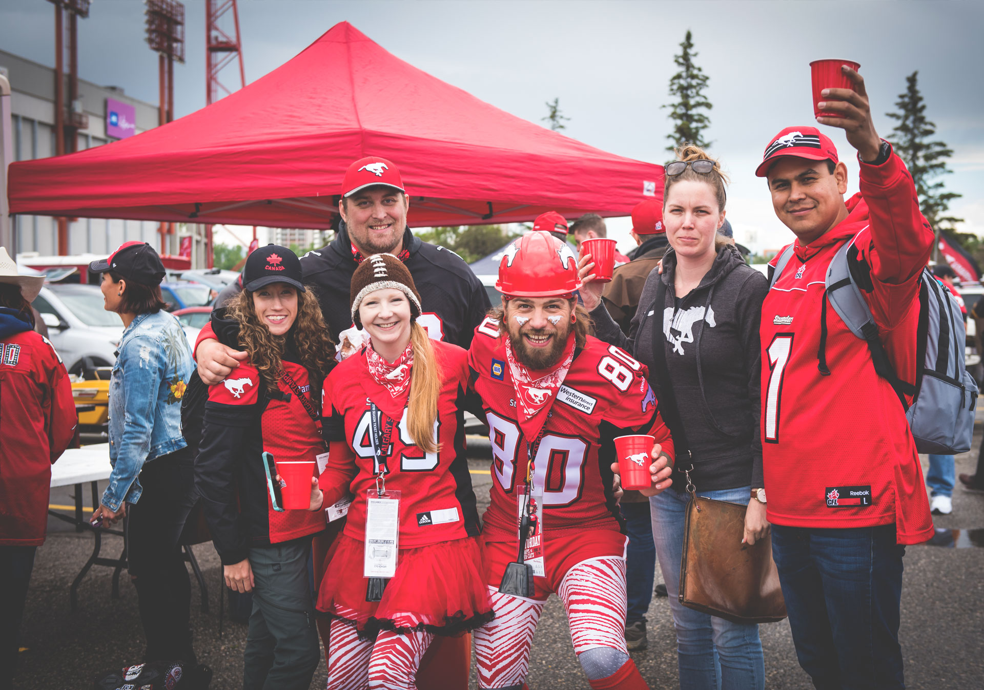Celebrate your love of the game at the greatest tailgate experience in the CFL.