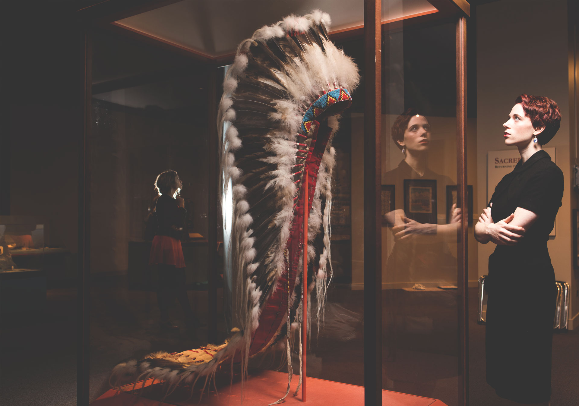 Glenbow is home to a permanent exhibition about the Blackfoot people.