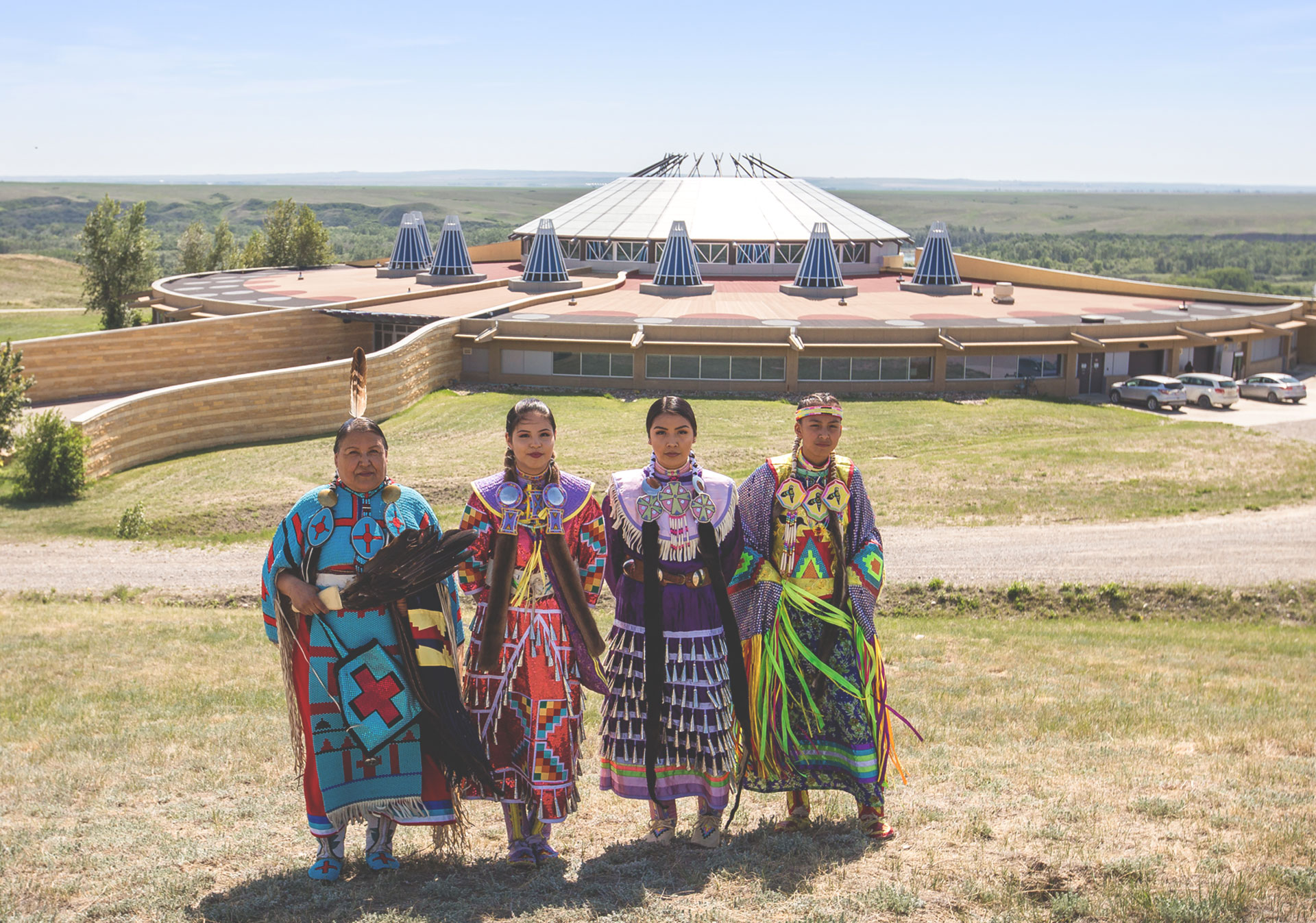 Blackfoot Crossing is the historic site of the signing of Treaty No. 7 (Photo credit: Travel Alberta/Katie Goldie).