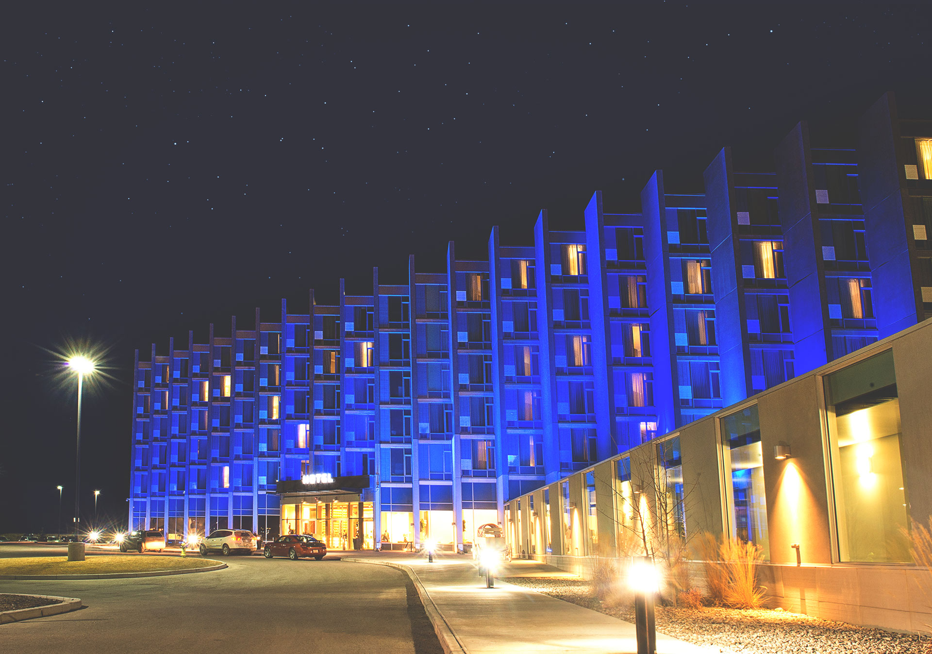 Accommodations and entertainment at Grey Eagle Resort and Casino.