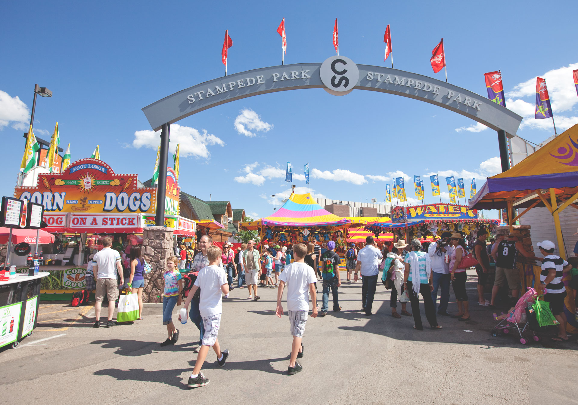 There's never a dull moment on the Calgary Stampede Midway.