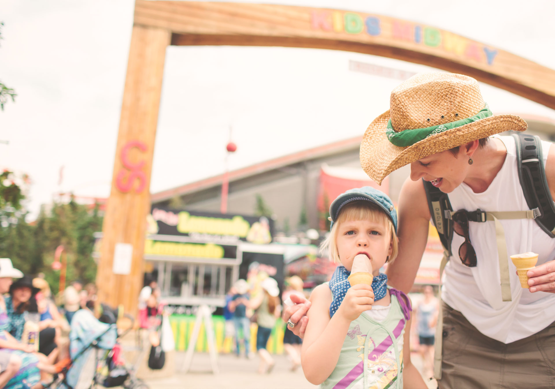 Be prepared for a day at the Calgary Stampede.