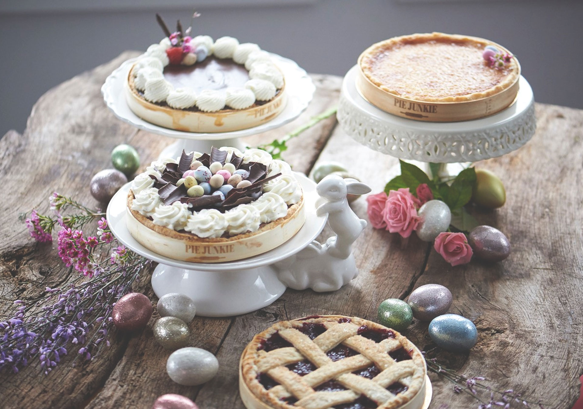 Delicious Easter treats at Pie Junkie