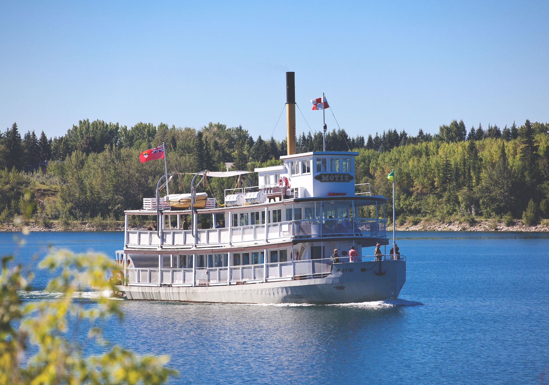Celebrate Opening Weekend at Heritage Park on the S.S. Moyie.