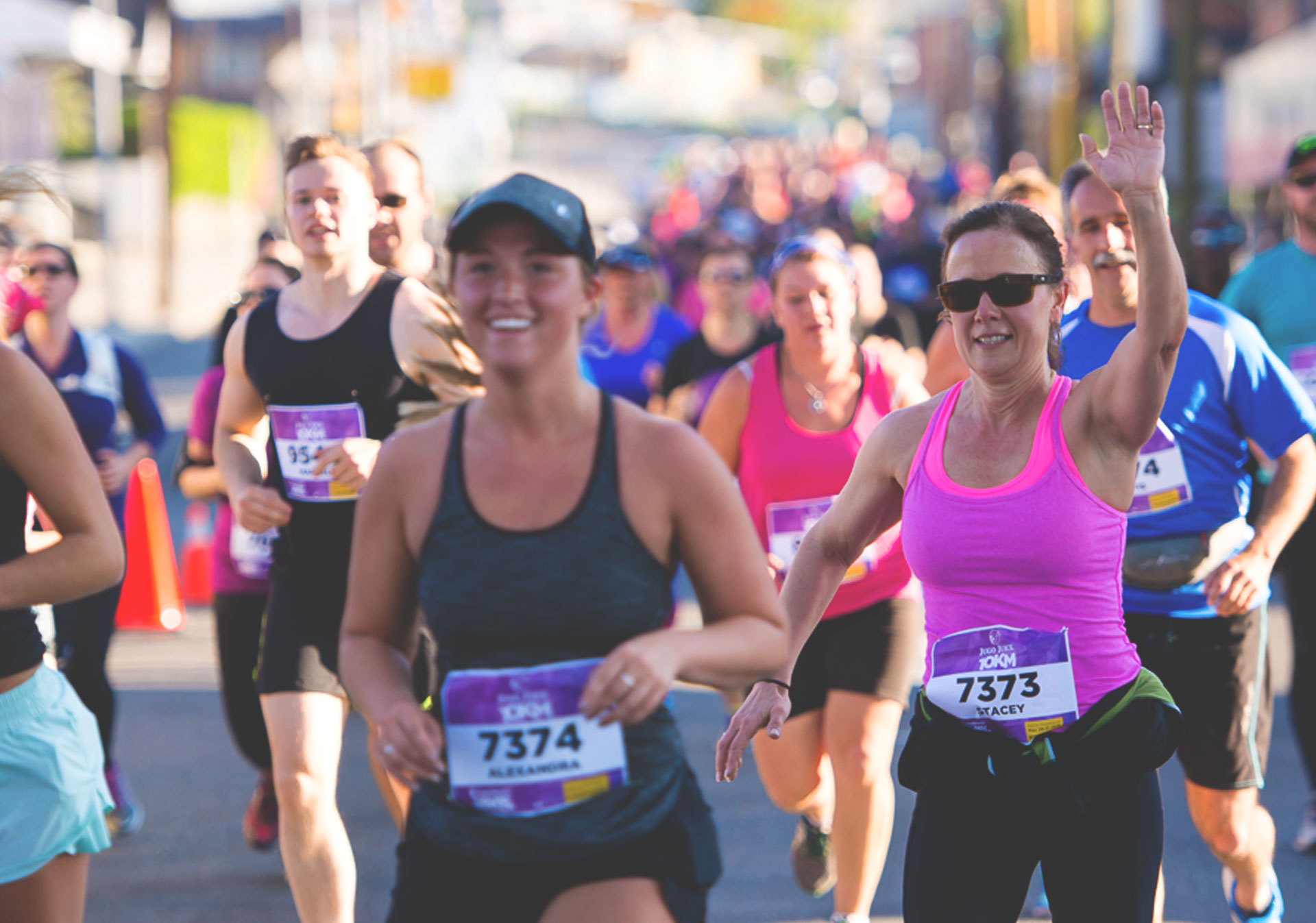 Be part of the energy at the Scotiabank Calgary Marathon.