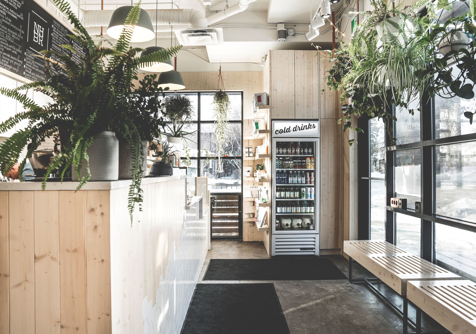 Get breakfast on the go at Neighbour Coffee.