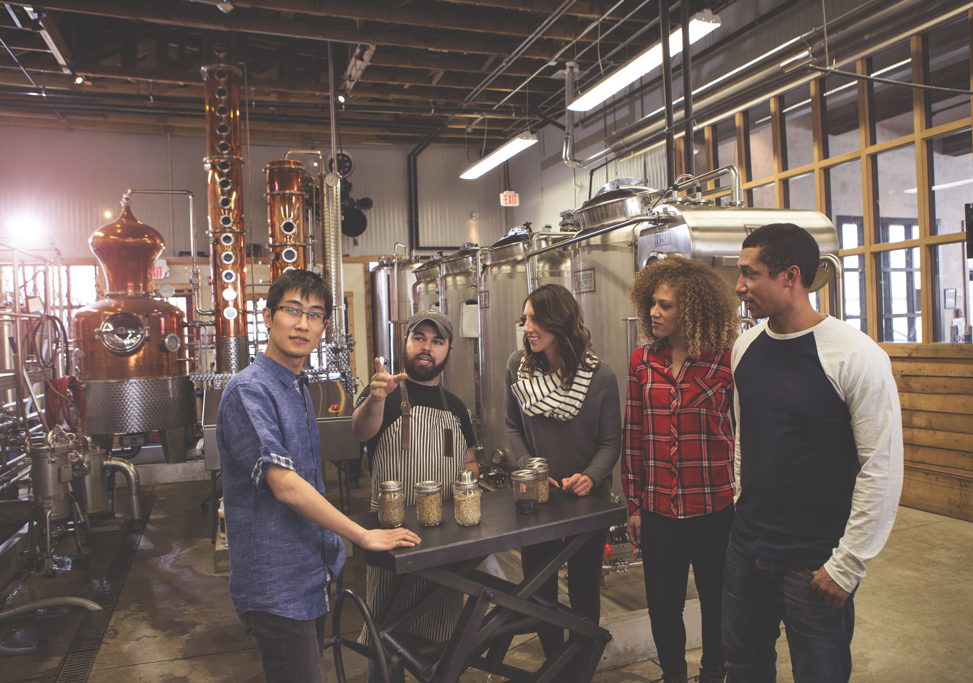 Take a tour at Eau Claire Distillery (Photo credit: Travel Alberta/Roth & Ramberg)