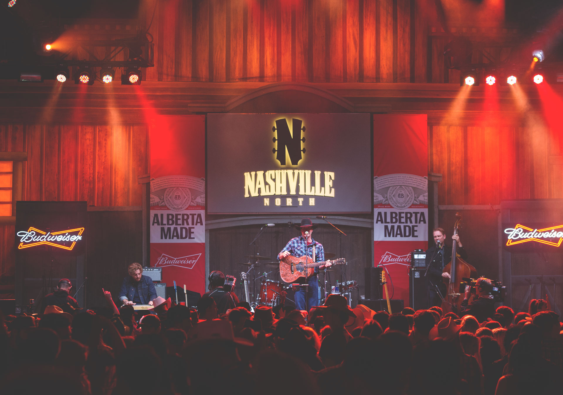 Nashville North hosts live music every night of the Calgary Stampede.