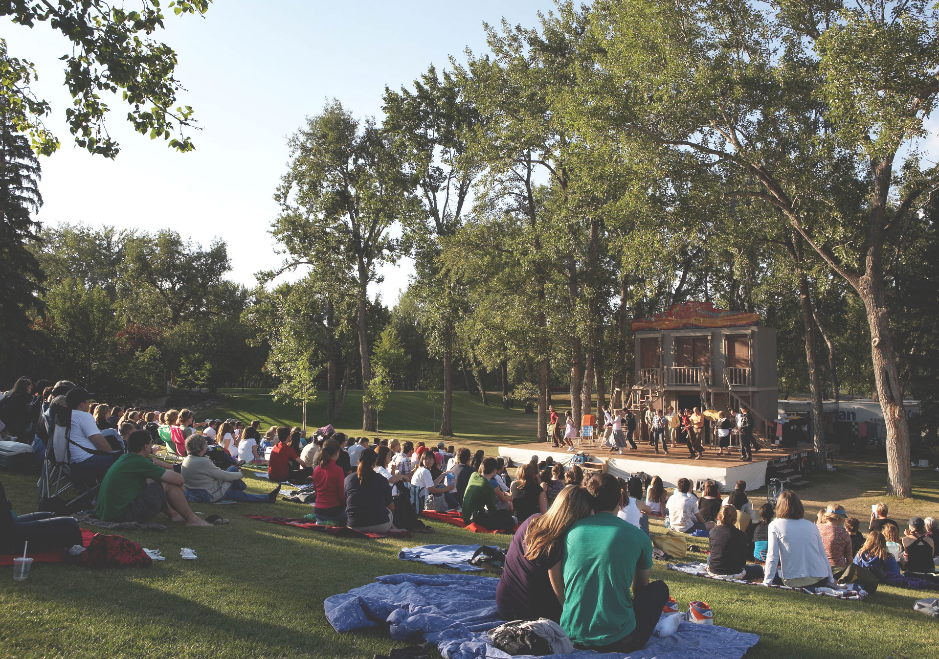 Shakespeare by the Bow in Price's Island Park