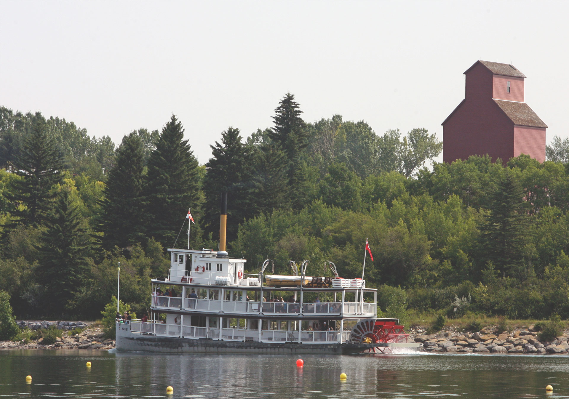 S.S. Moyie at Heritage Park