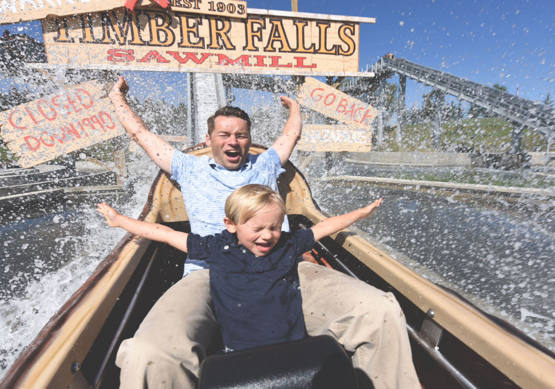 Celebrate Father's Day at Calaway Park