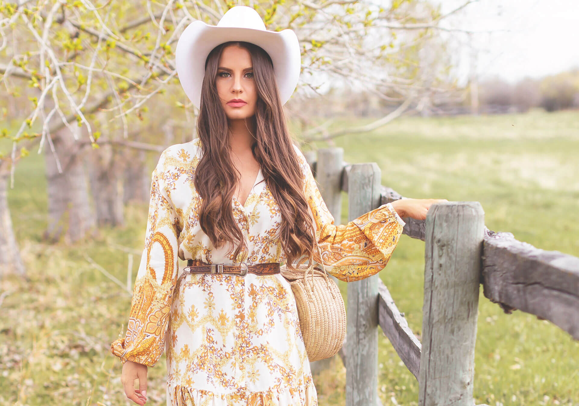 Style essentials for the Calgary Stampede from Justine Celina Maguire