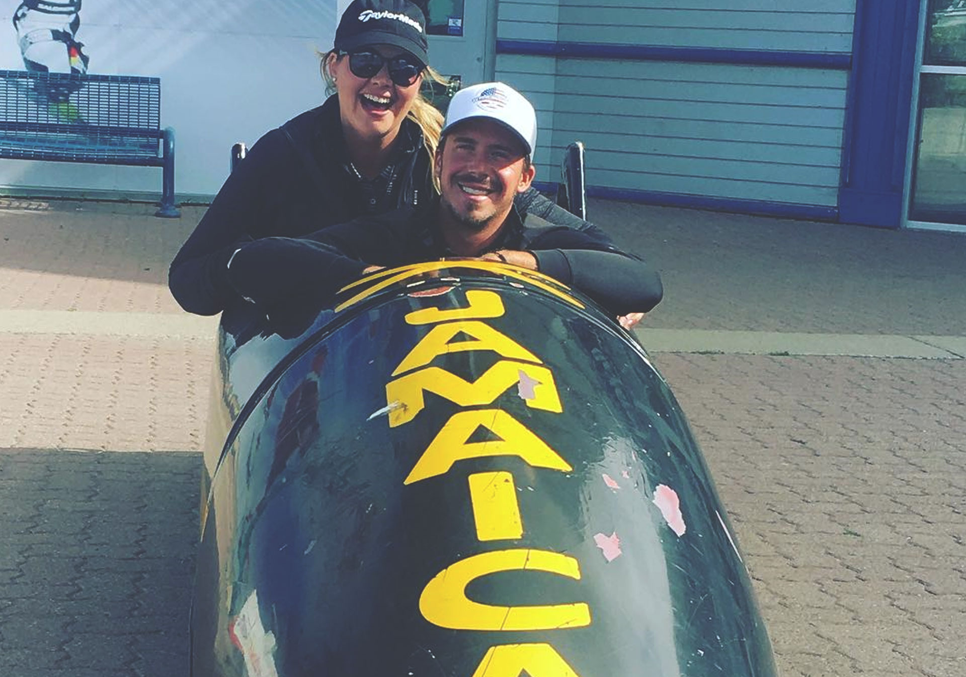 Don't miss a photo op at the Jamaican bobsled (Photo credit: @golfplayaa on Instagram).