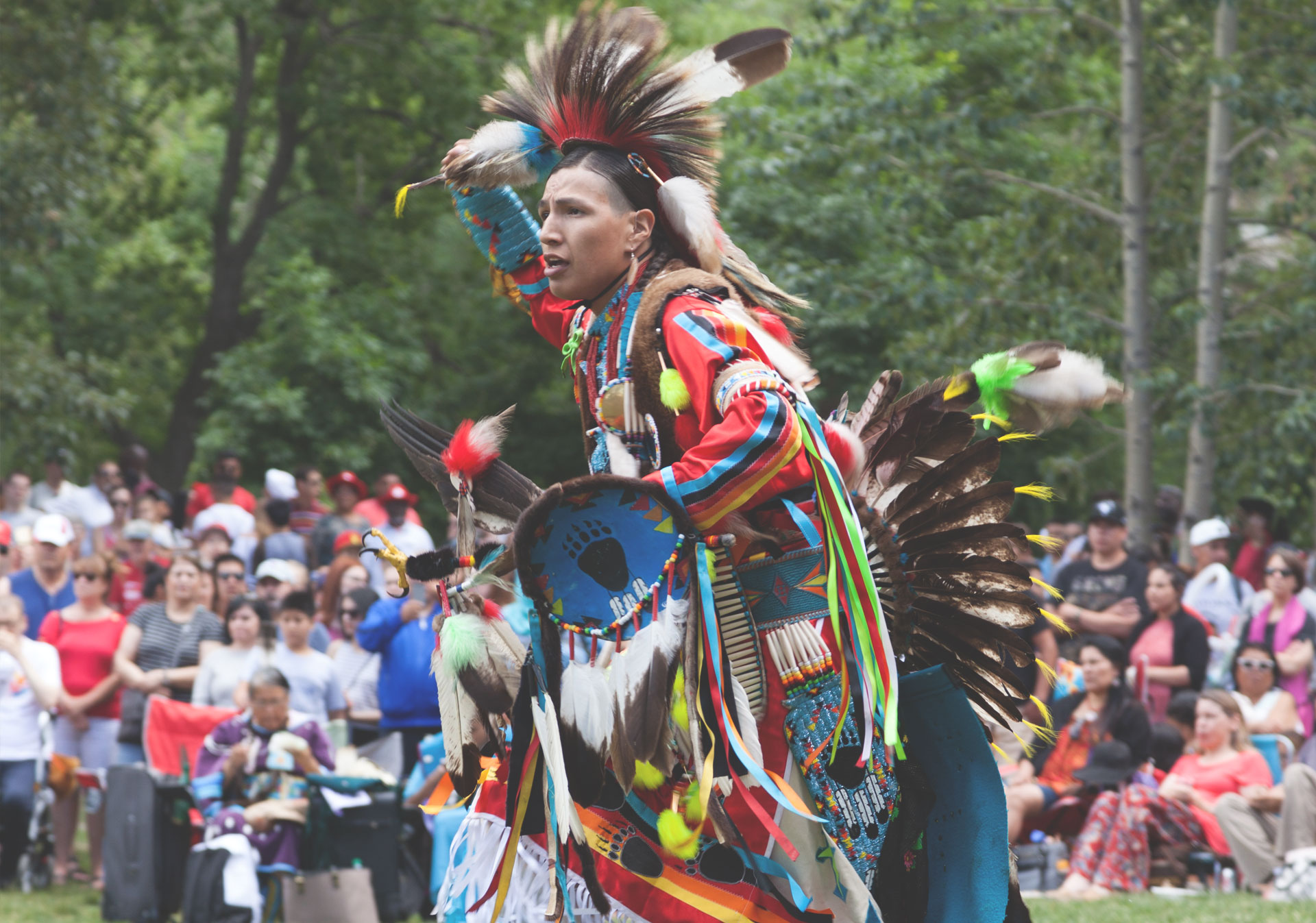 Celebrate Canada Day with the Powwow and Indigenous Showcase on Prince's Island Park.