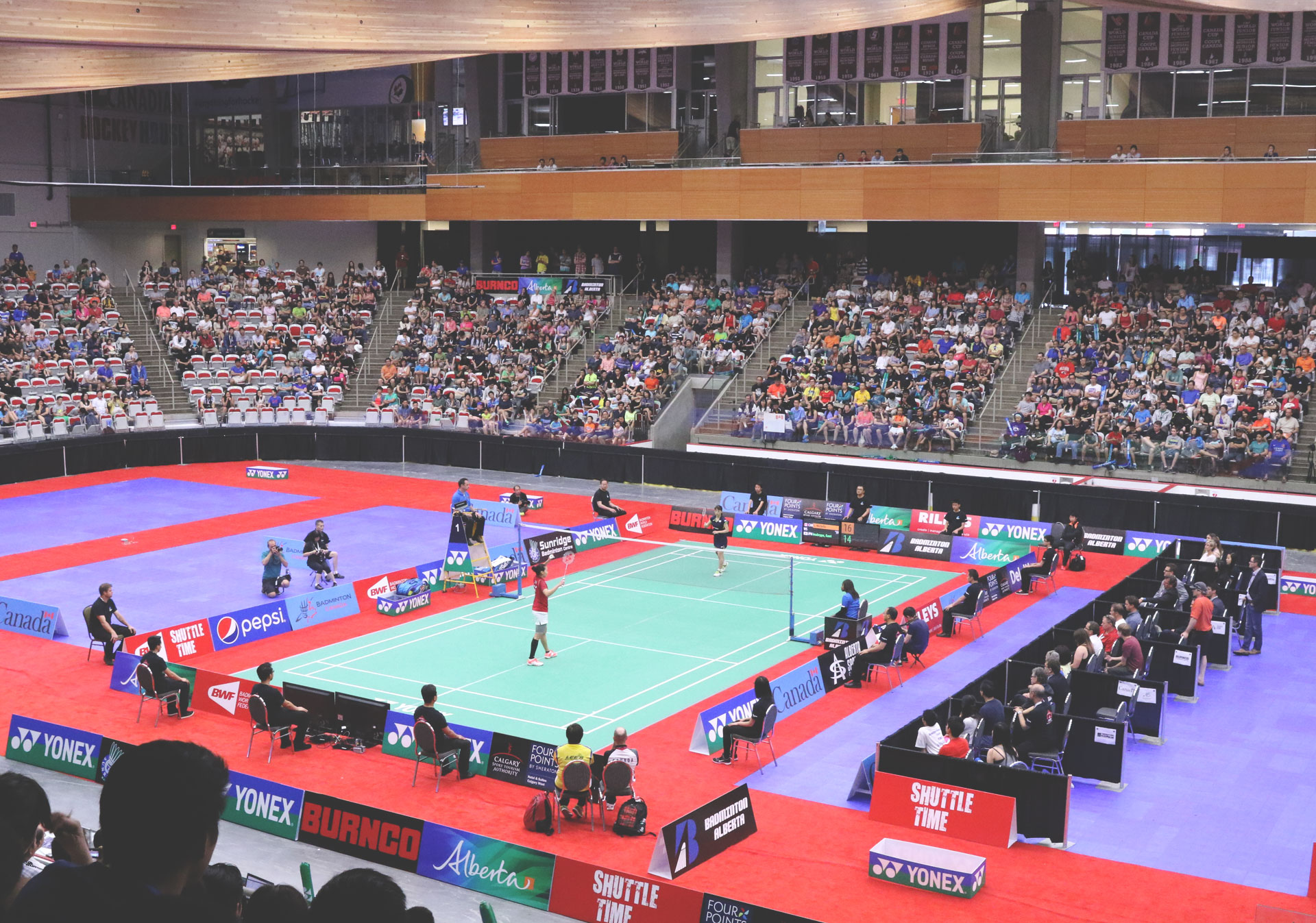 Top international competitors come to Calgary for the YONEX Canada Open.