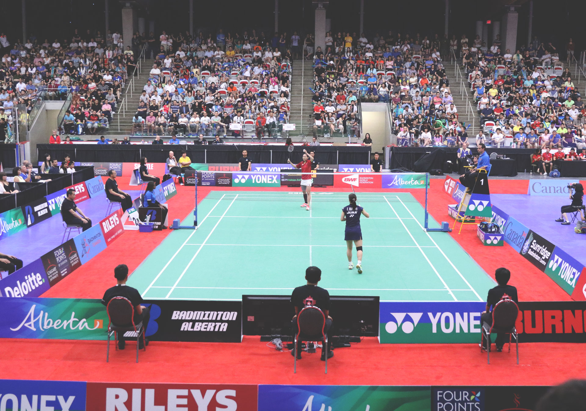 Get a front row seat to the YONEX Canada Open in Calgary.