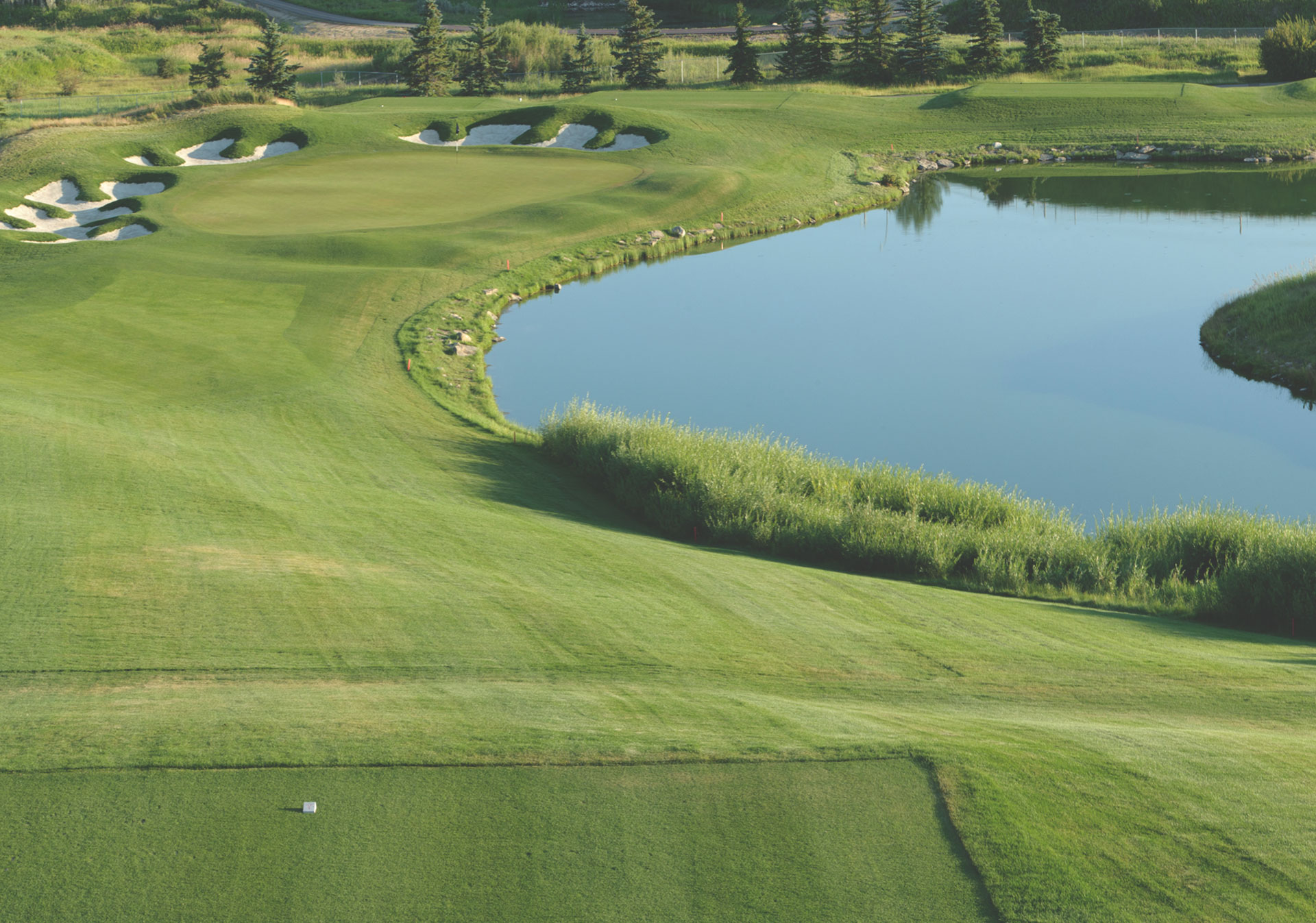 The ATB Financial Classic takes place at the Country Hills Golf & Country Club.