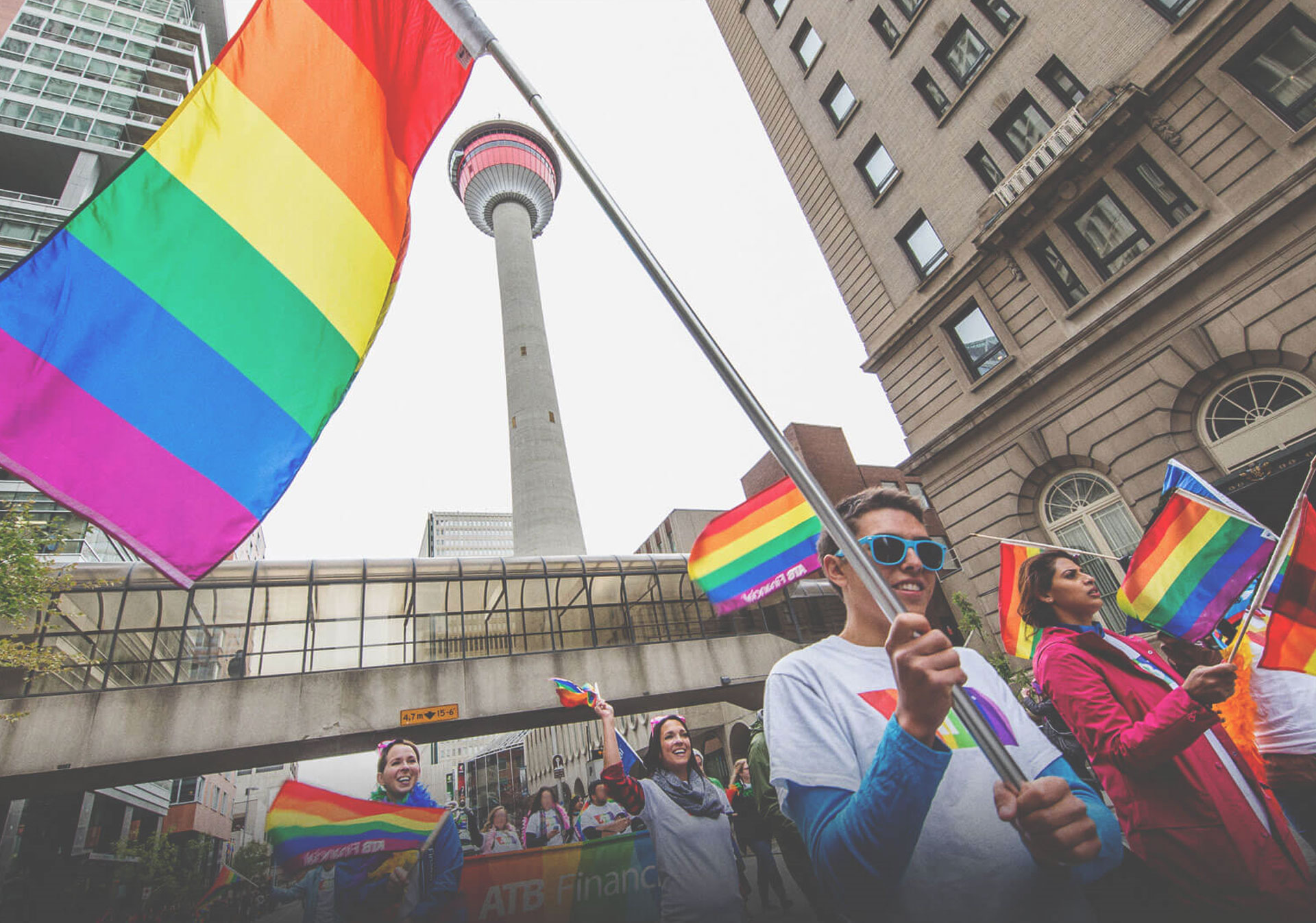 Celebrate LGBT equality and diversity during Calgary Pride. (Photo credit: Neil Zeller)