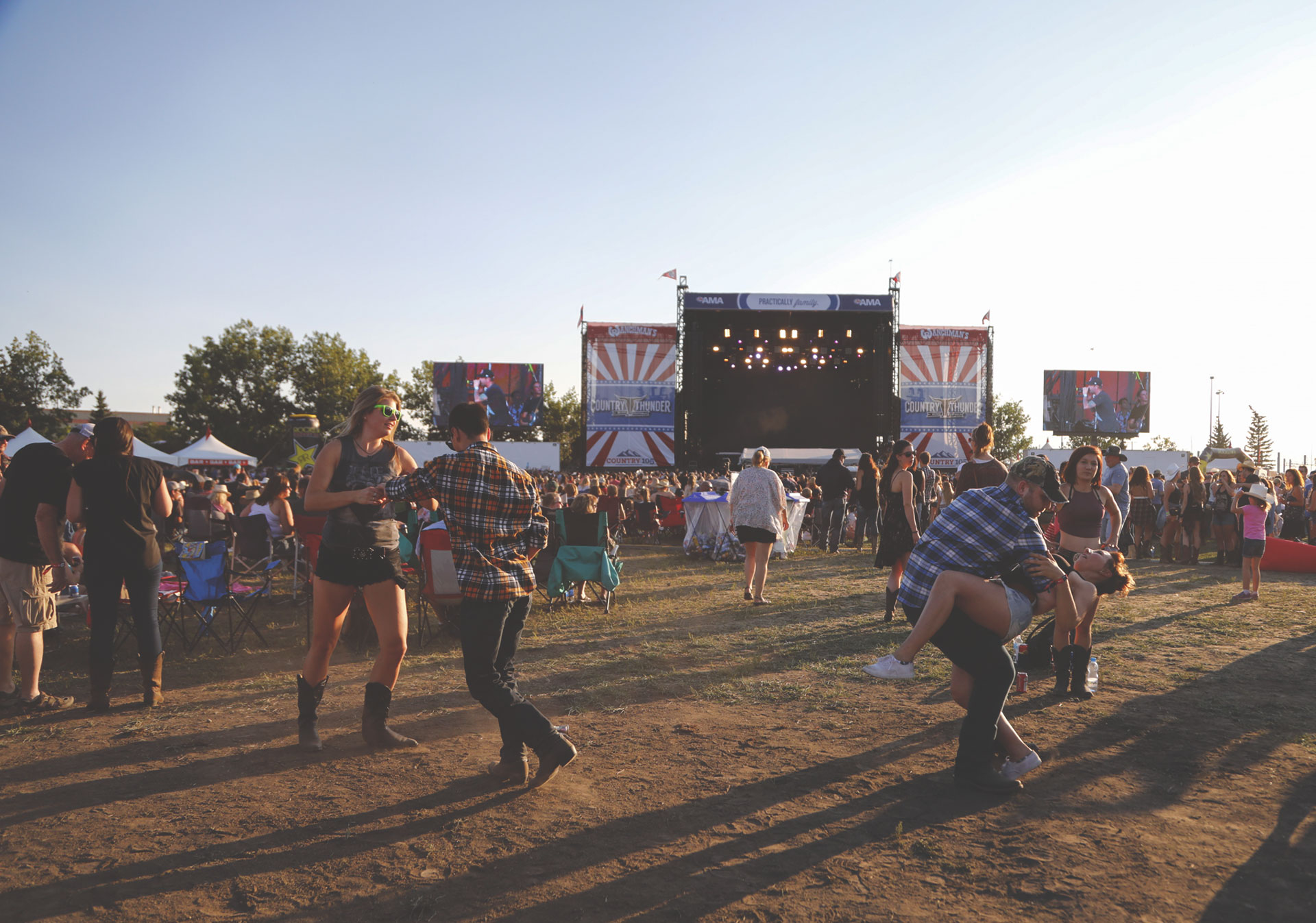 Country Thunder is a festival escape in the heart of Calgary.