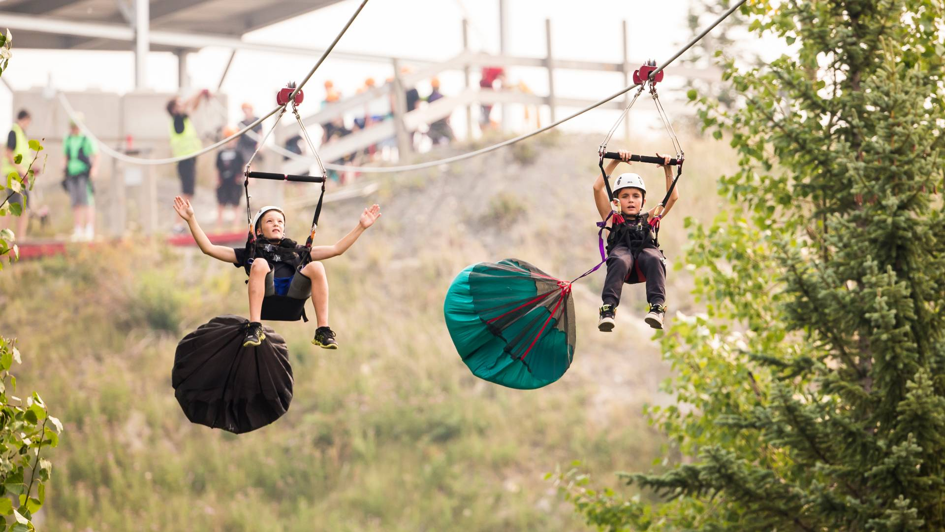 Winsport Zipline