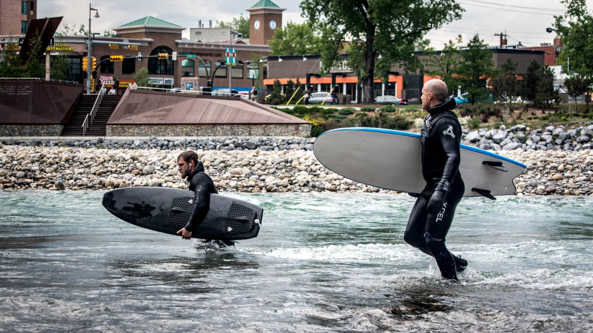 River Surfing Calgary