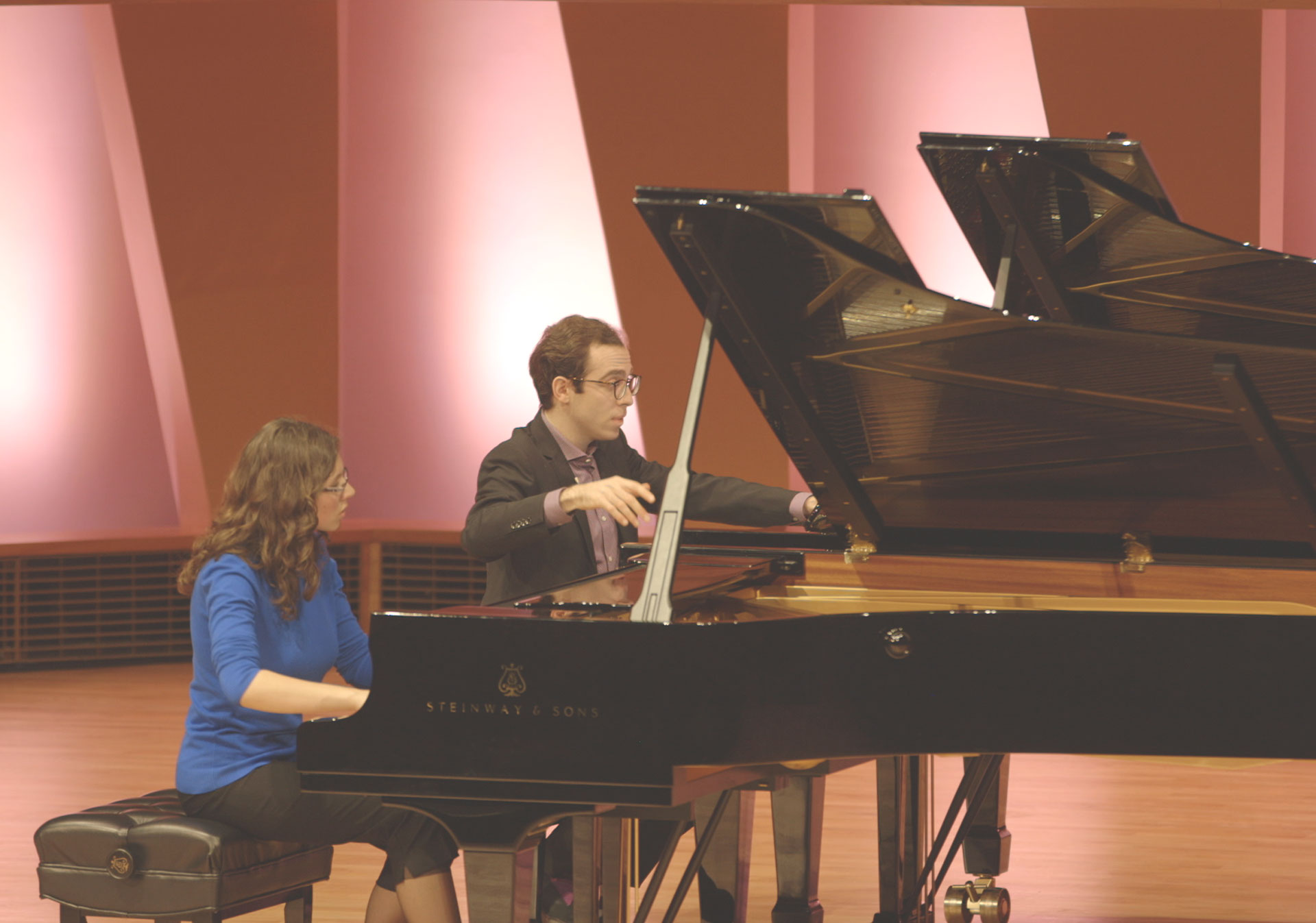 The Masterclass experience with pianist Nicolas Namoradze.