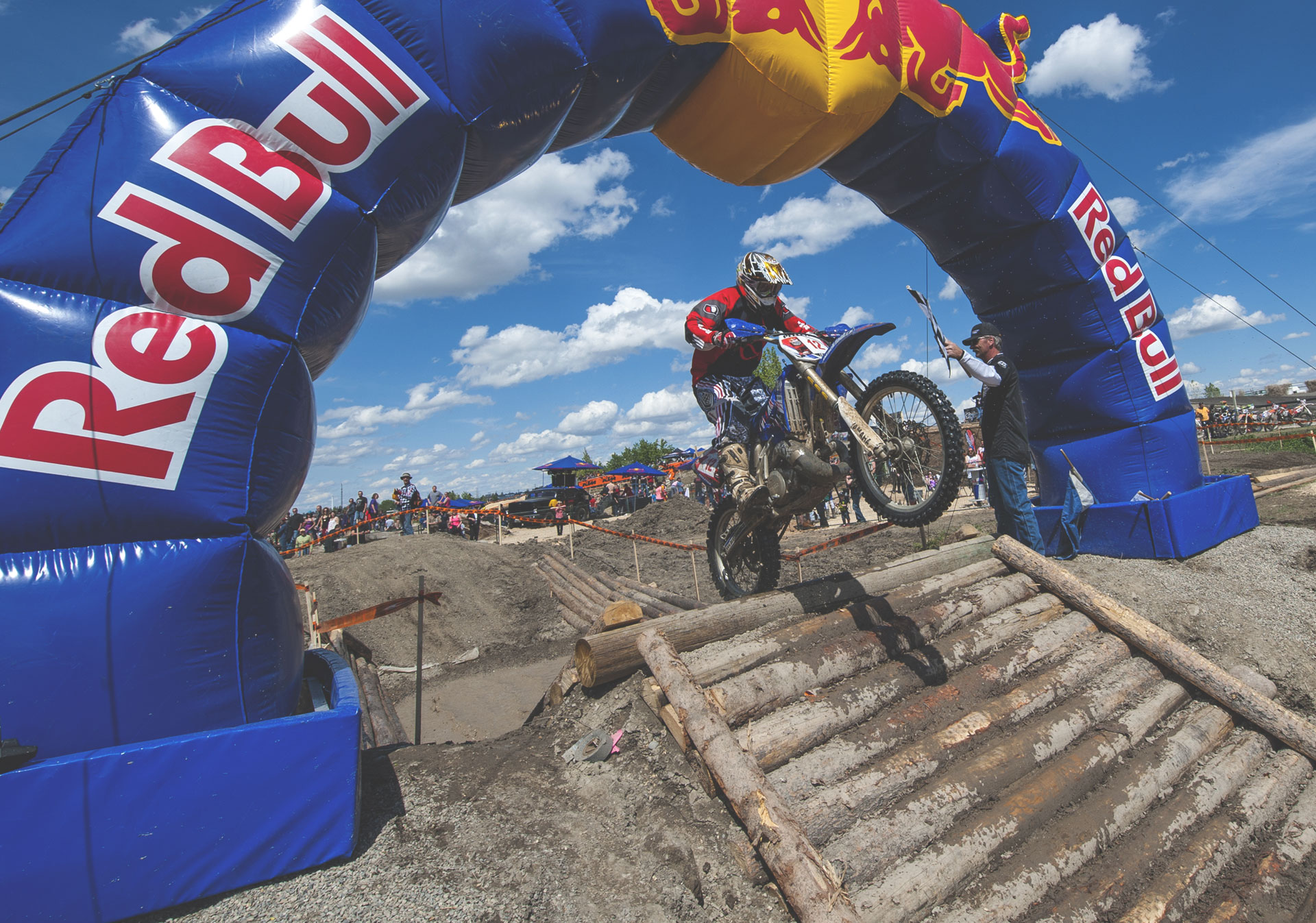 Experience the thrill of live motocross action