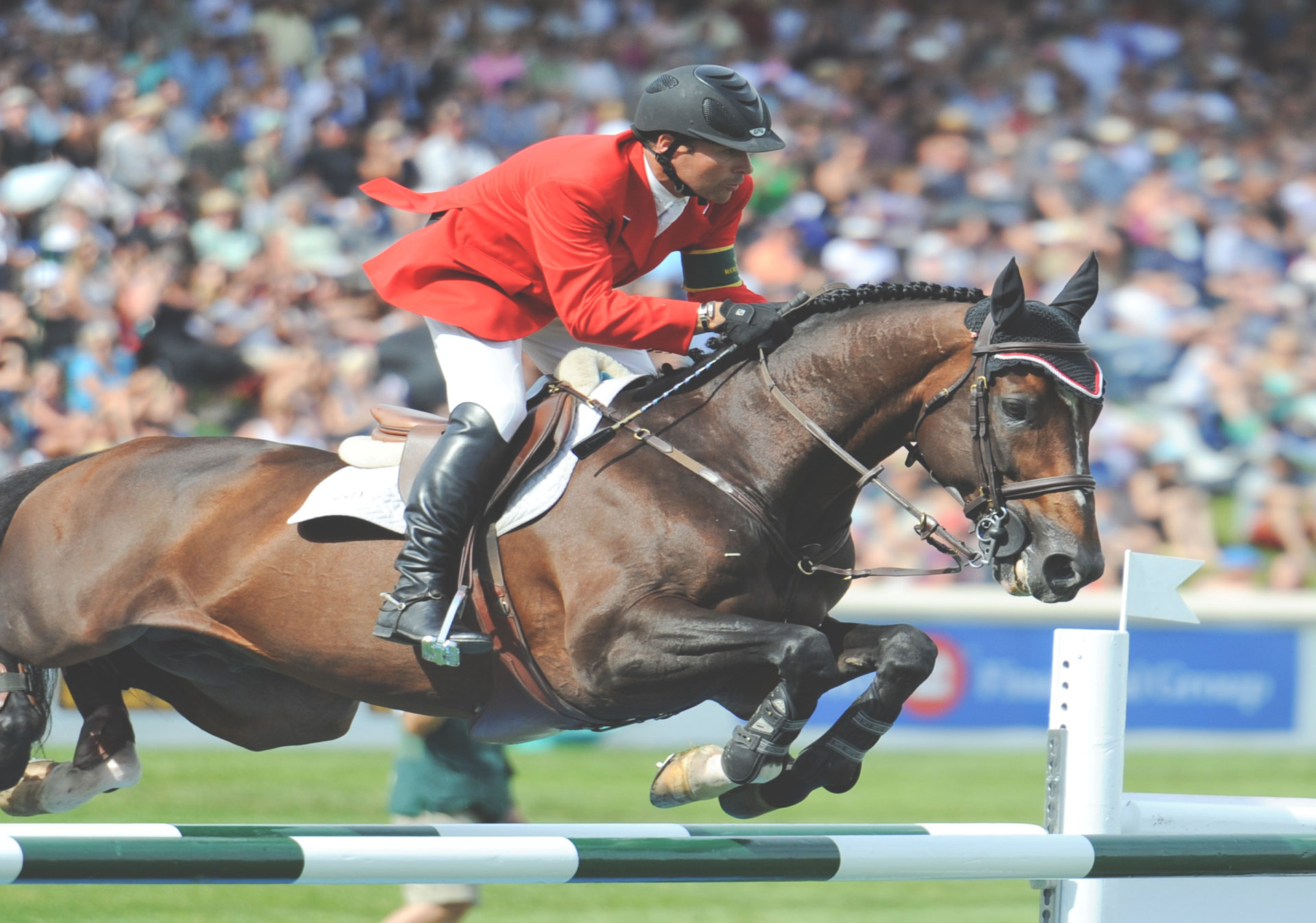Watch incredible show jumpers from around the world compete at the Spruce Meadows 'Masters' tournament.